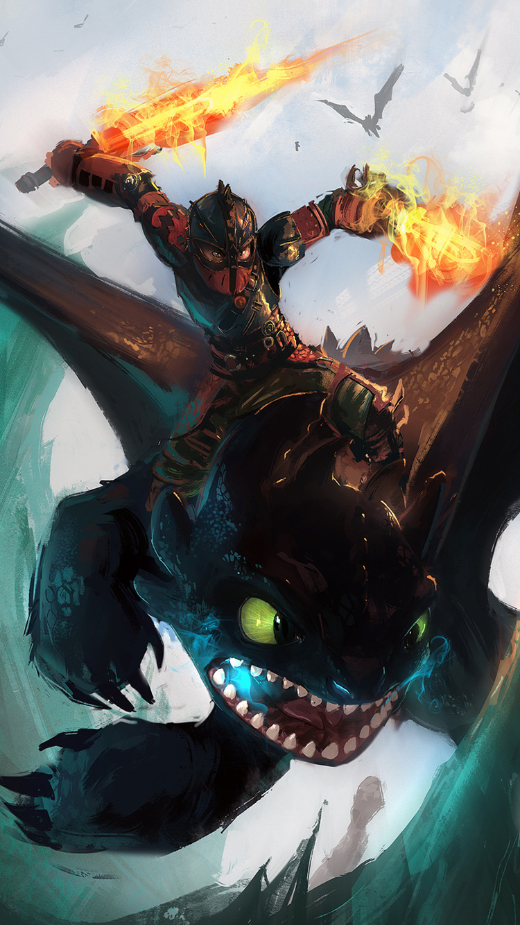 750x1334 How To Train Your Dragon The Hidden World Iphone 6