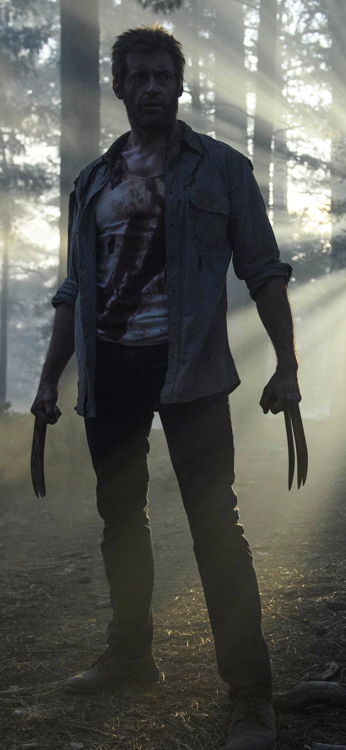 1125x2436 Hugh Jackman As Wolverine In Logan Iphone Xs Iphone 10