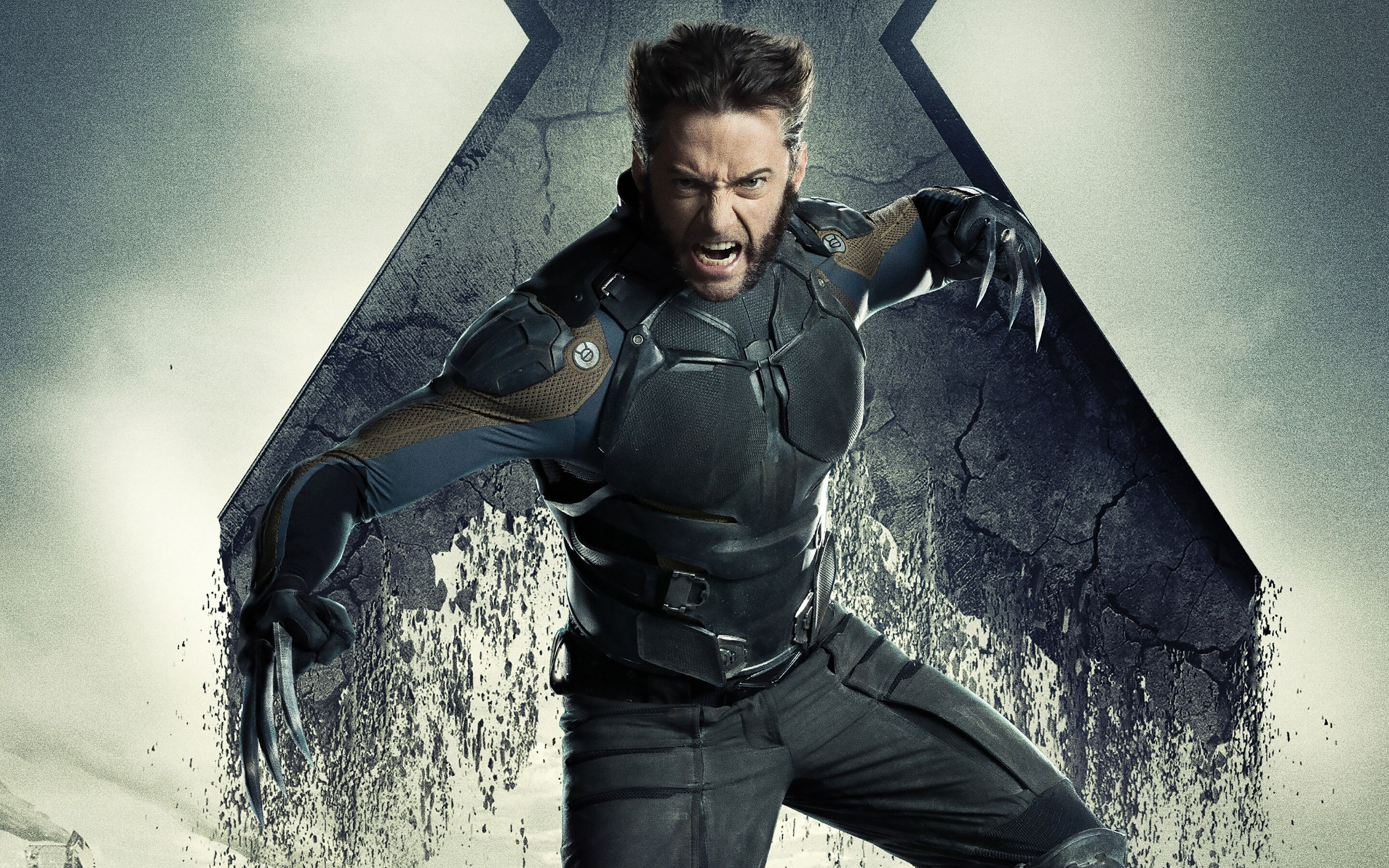 2880x1800 hugh jackman x men days of future past macbook pro retina