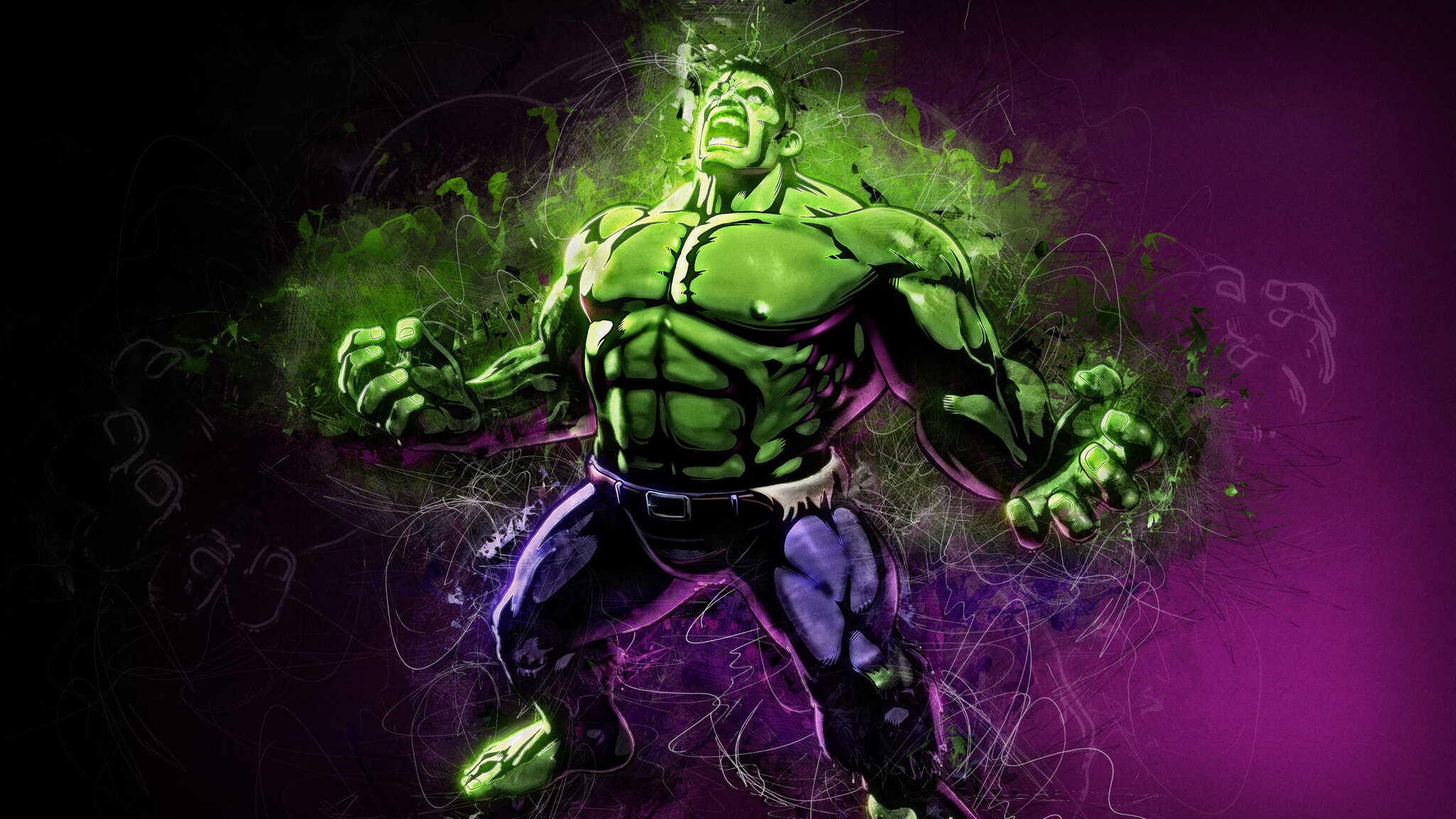 2048x1152 Hulk Artwork 4k 2048x1152 Resolution Hd 4k