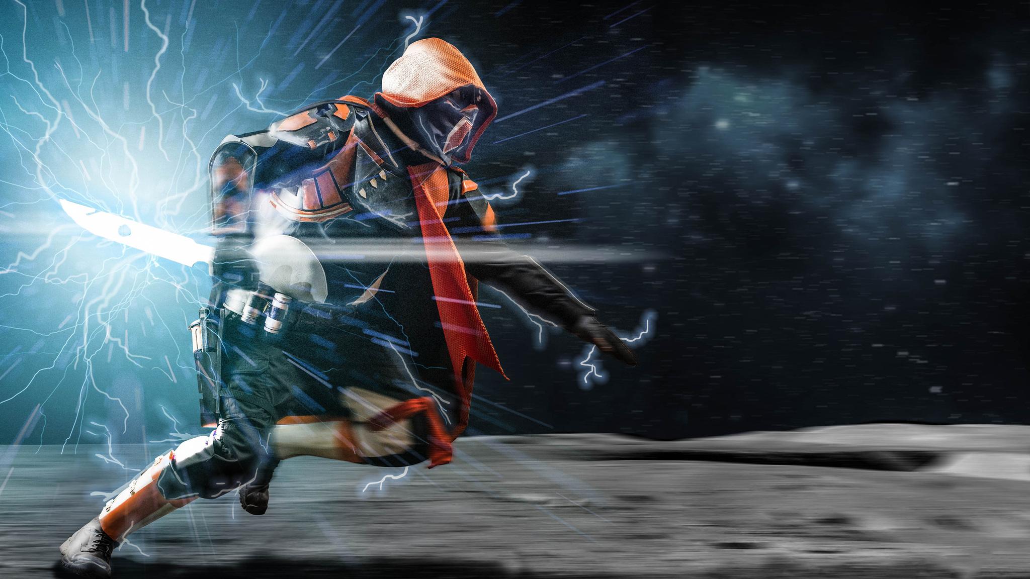 2048x1152 hunter destiny 2 cosplay 2048x1152 resolution hd - 4k destiny 2 wallpaper ...