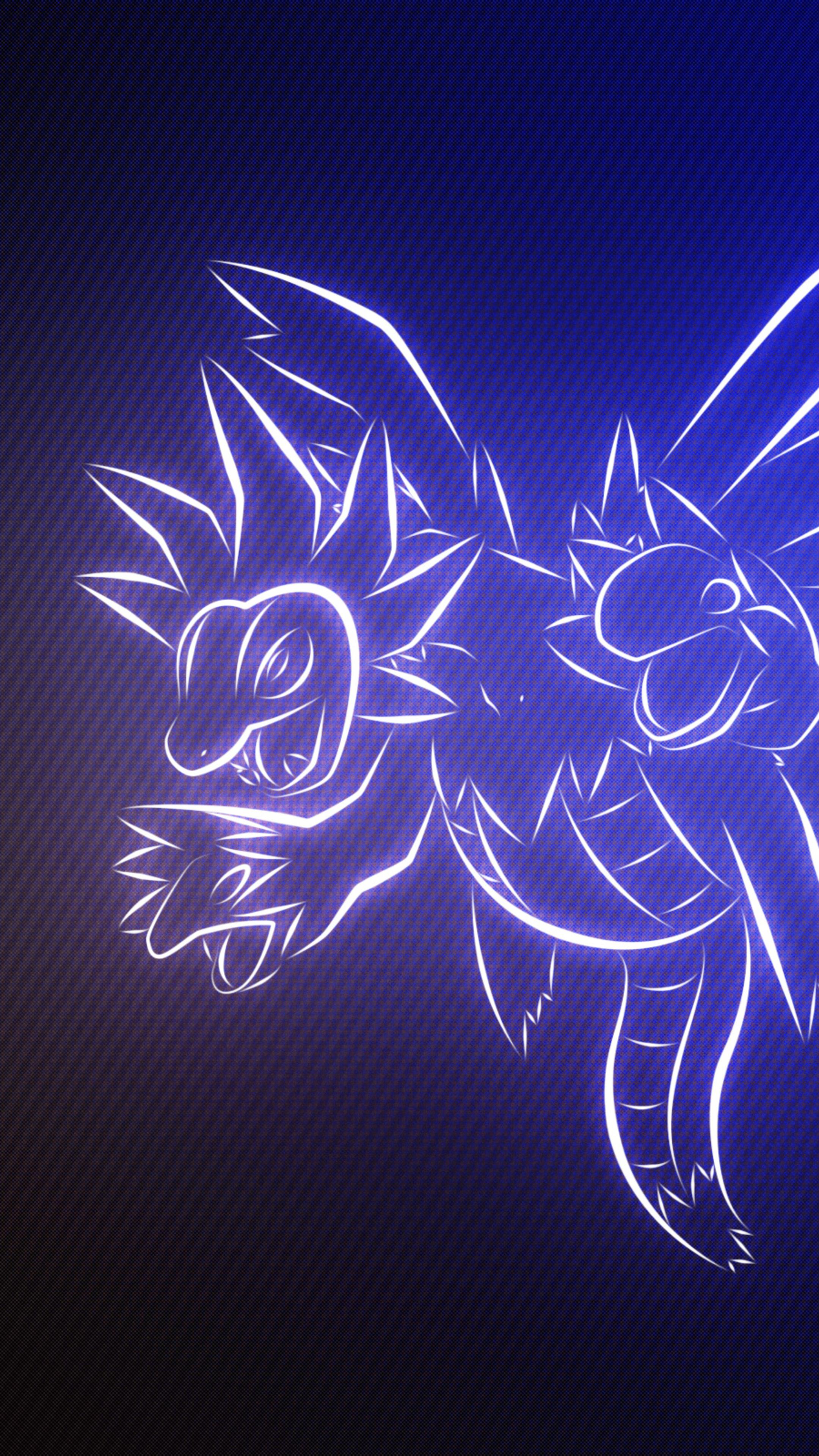 2160x3840 hydreigon pokemon sony xperia x xz z5 premium hd - Art wallpaper 2160x3840 ...