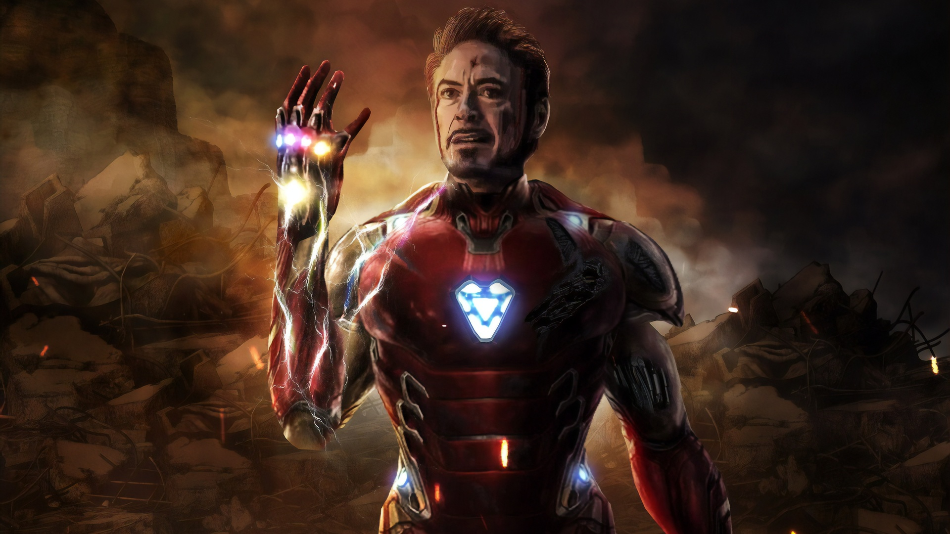 1920x1080 I Am Iron Man Avengers Endgame 5k Laptop Full HD