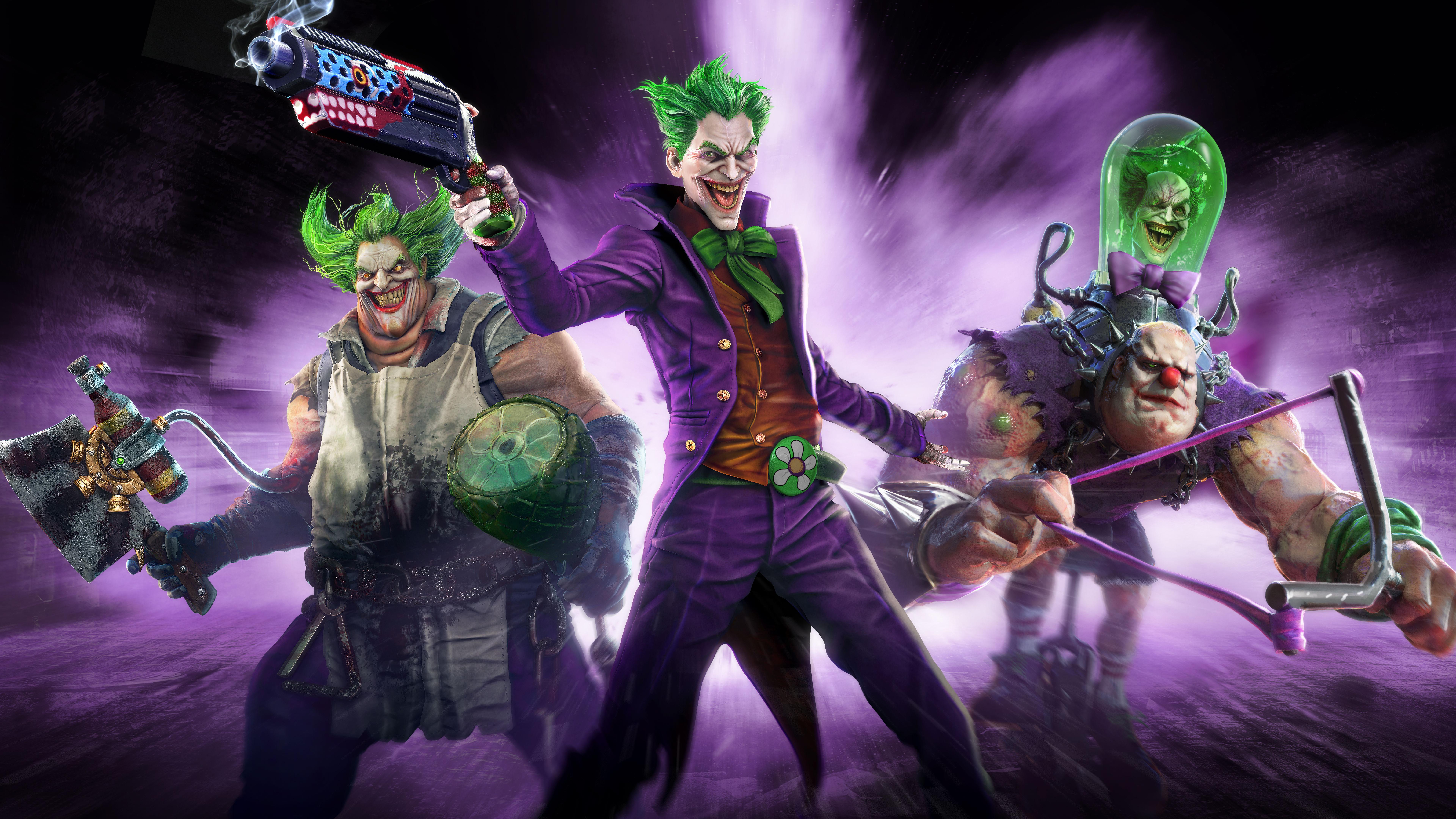 7680x4320 Infinite Crisis Jokers 8k HD 4k Wallpapers ...