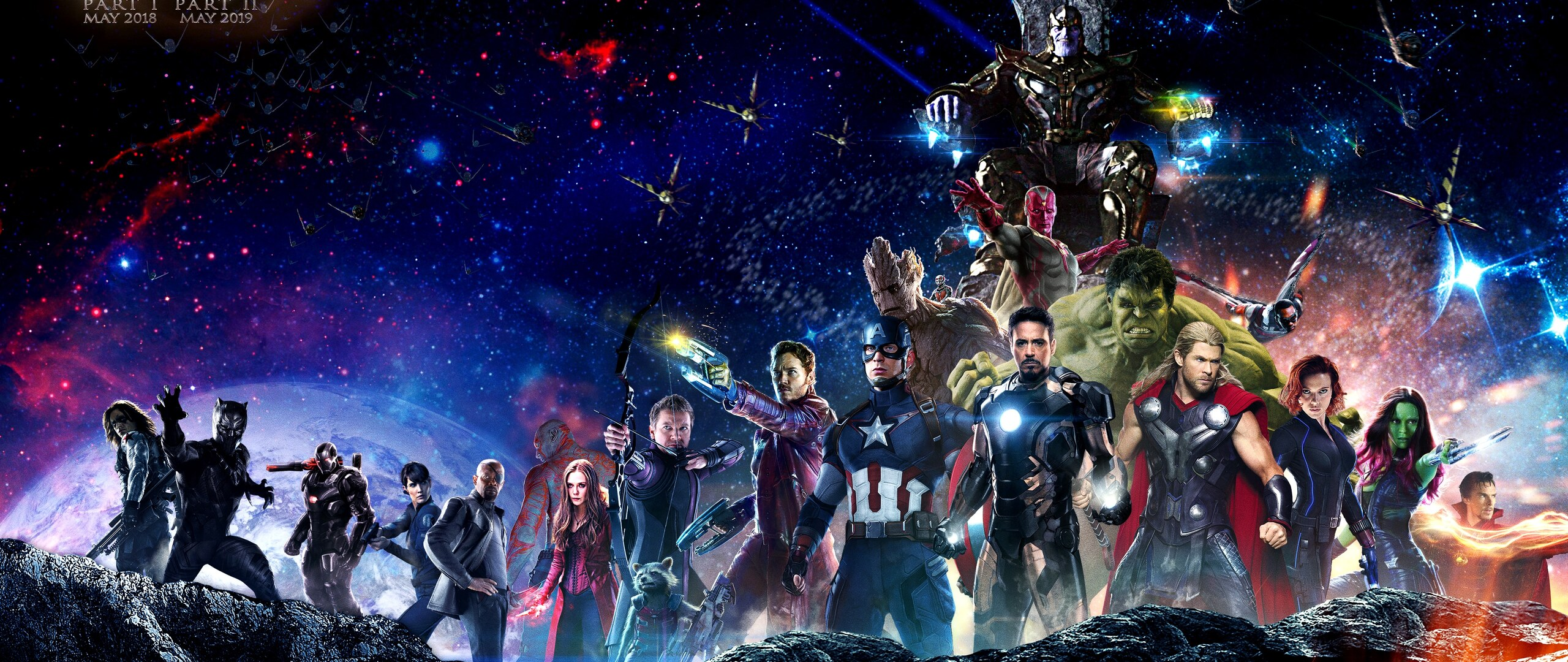 2560x1080 Infinity War Superheroes 4k 2560x1080 Resolution ...