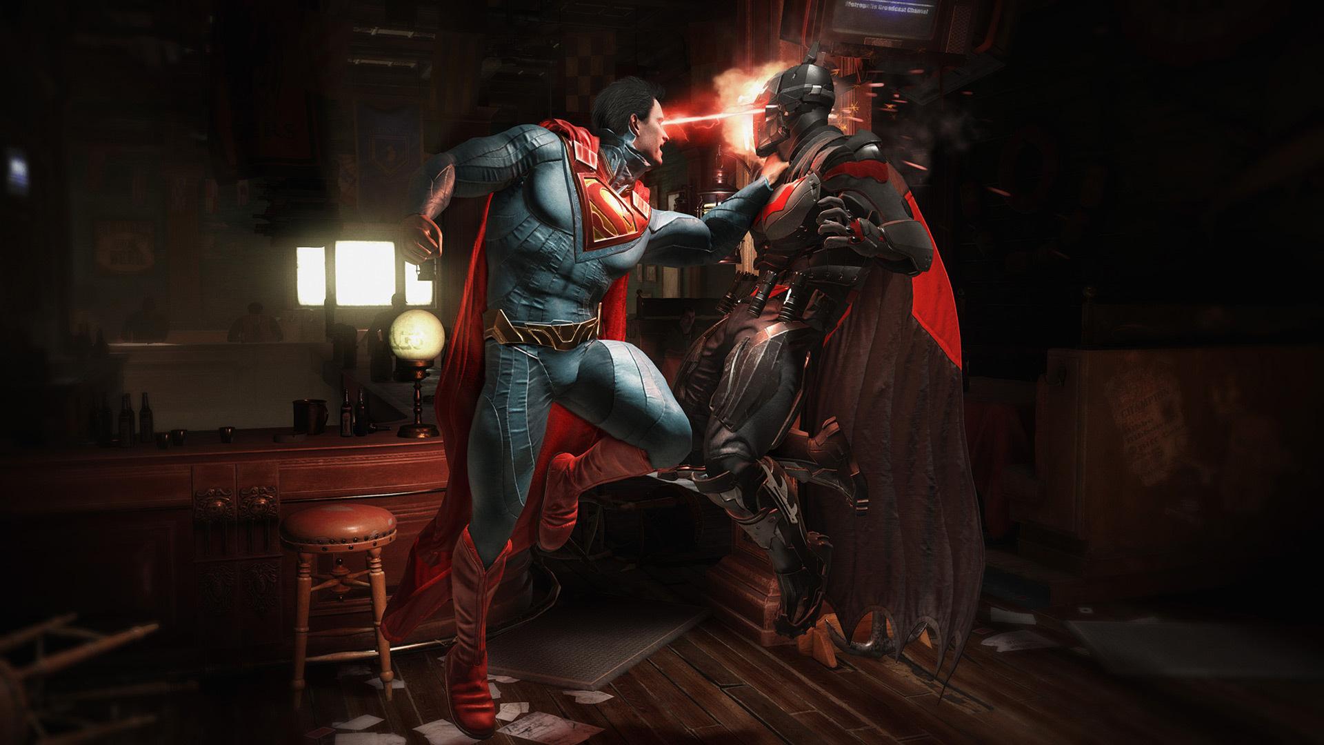 Injustice 2 Batman Vs Superman Qu