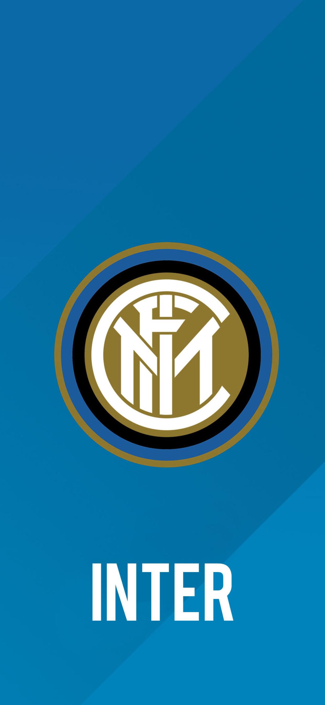 1242x2688 Inter Milan Football Club Logo Iphone Xs Max Hd 4k