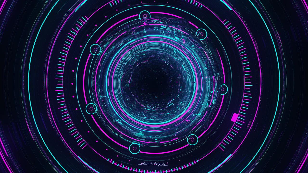 Interstellar Abstract Art I4