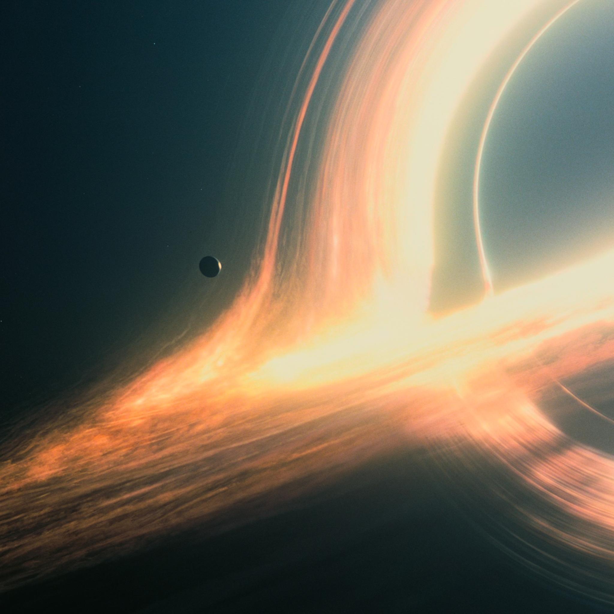 2048x2048 Interstellar Gargantua Ipad Air HD 4k Wallpapers ...