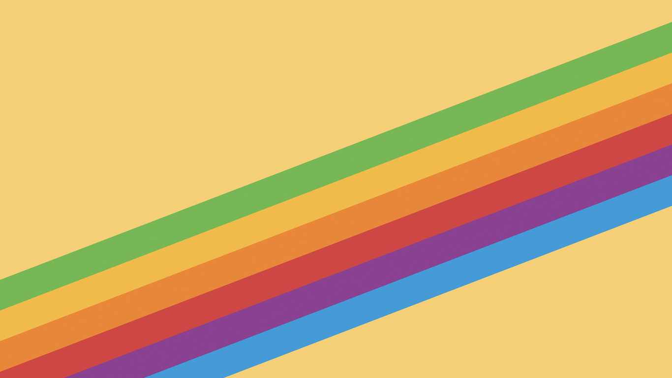 1366x768 Ios 11 Heritage Stripe Yellow 1366x768 Resolution Hd 4k Wallpapers Images Backgrounds Photos And Pictures