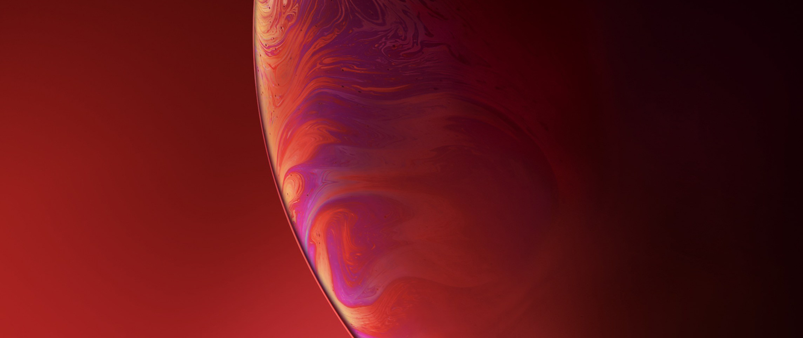 2560x1080 Iphone Xr Double Bubble Red 2560x1080 Resolution Hd 4k Wallpapers Images Backgrounds Photos And Pictures