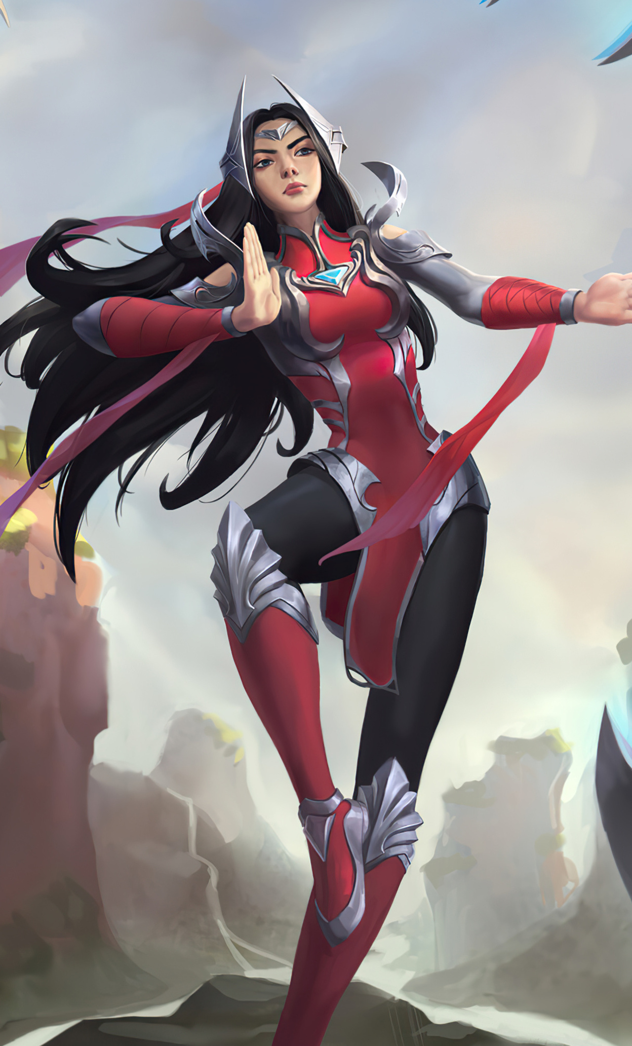 1280x2120 Irelia League Of Legends Fan Art 4k Iphone 6 Hd 4k Wallpapers Images Backgrounds Photos And Pictures