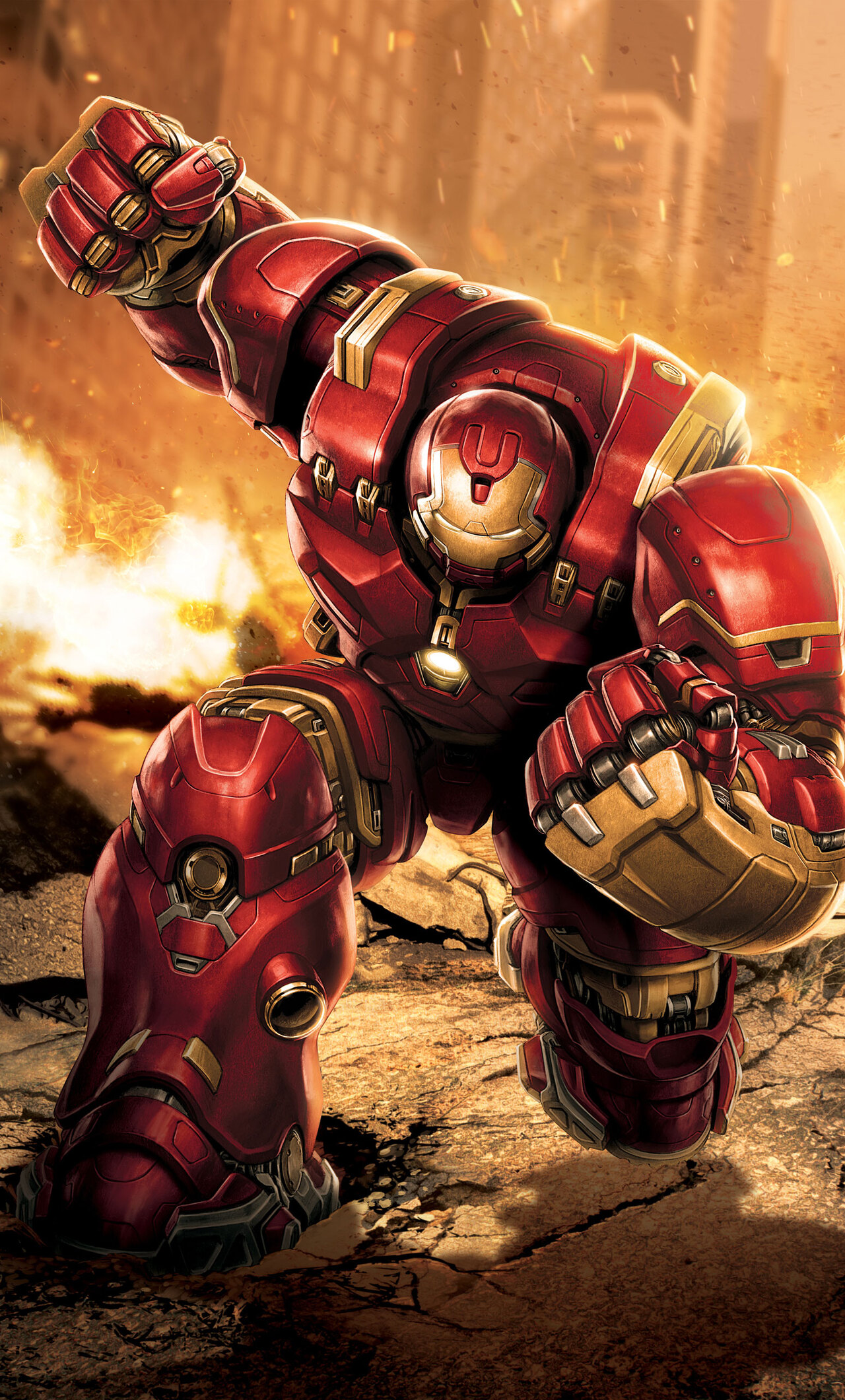 1280x2120 Iron Hulkbuster Artwork Iphone 6 Hd 4k Wallpapers Images