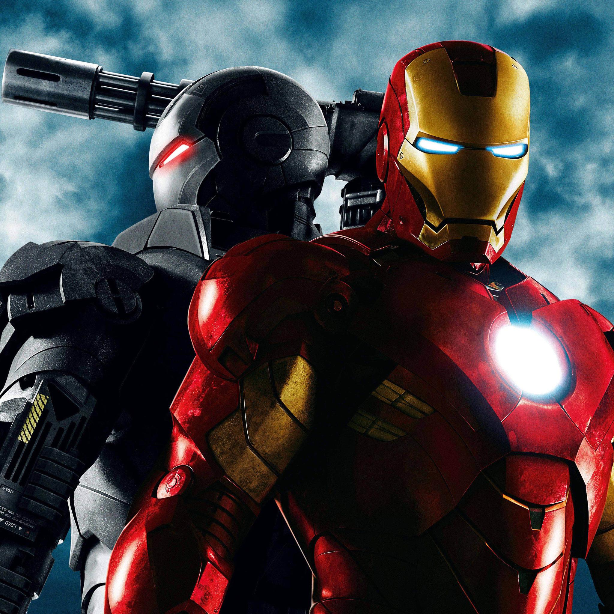 2048x2048 Iron Man 2 4k Ipad Air Hd 4k Wallpapers Images