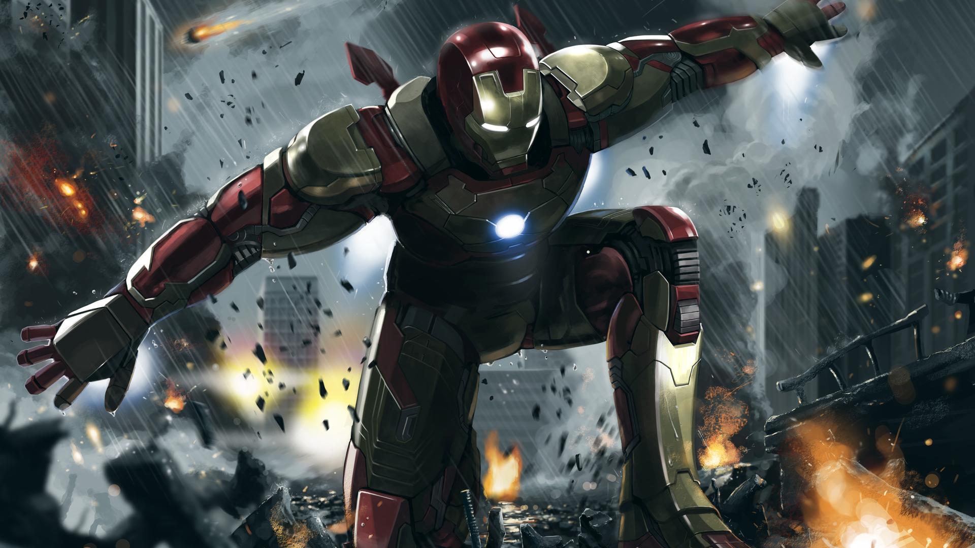 1920x1080 Iron Man 3 Art 4k Laptop Full Hd 1080p Hd 4k Wallpapers