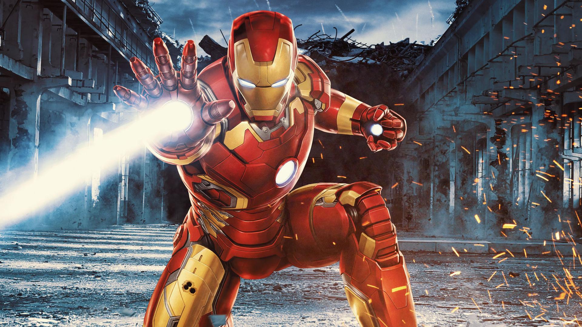 1920x1080 Iron Man 3 Art Laptop Full Hd 1080p Hd 4k Wallpapers