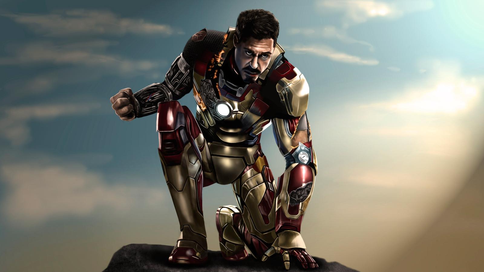 1600x900 Iron Man 3 Artwork 5k 1600x900 Resolution Hd 4k