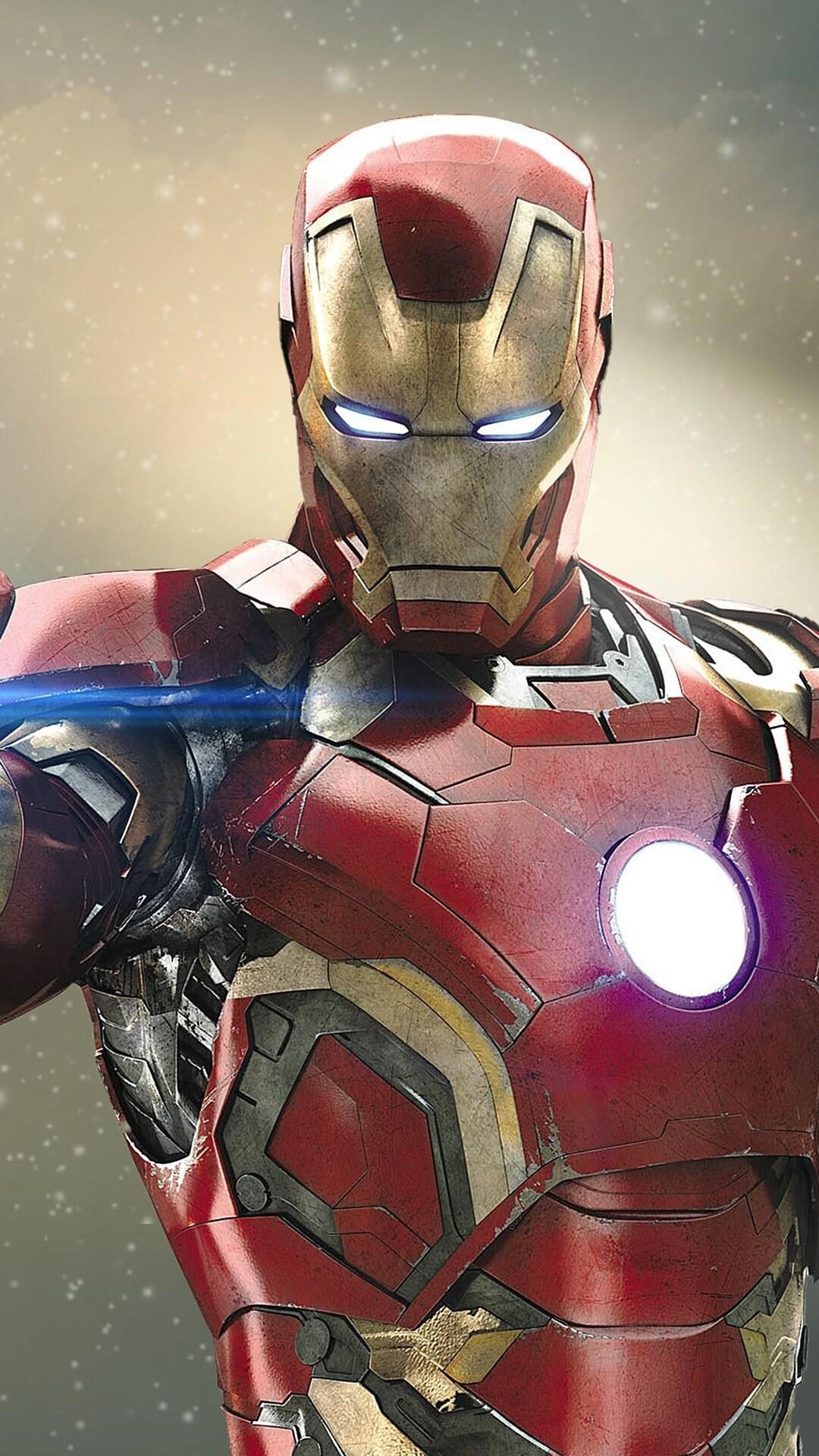 1080x1920 Iron Man 4k Iphone 7,6s,6 Plus, Pixel xl ,One ...