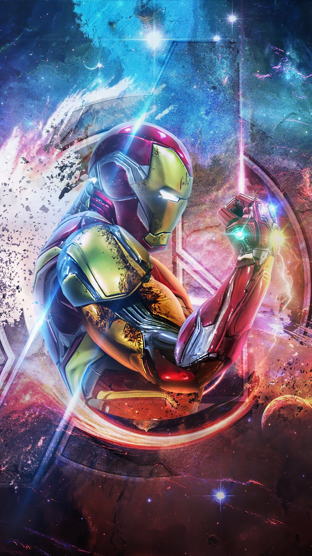 1080x1920 Iron Man 4k Avengers Endgame Iphone 76s6 Plus
