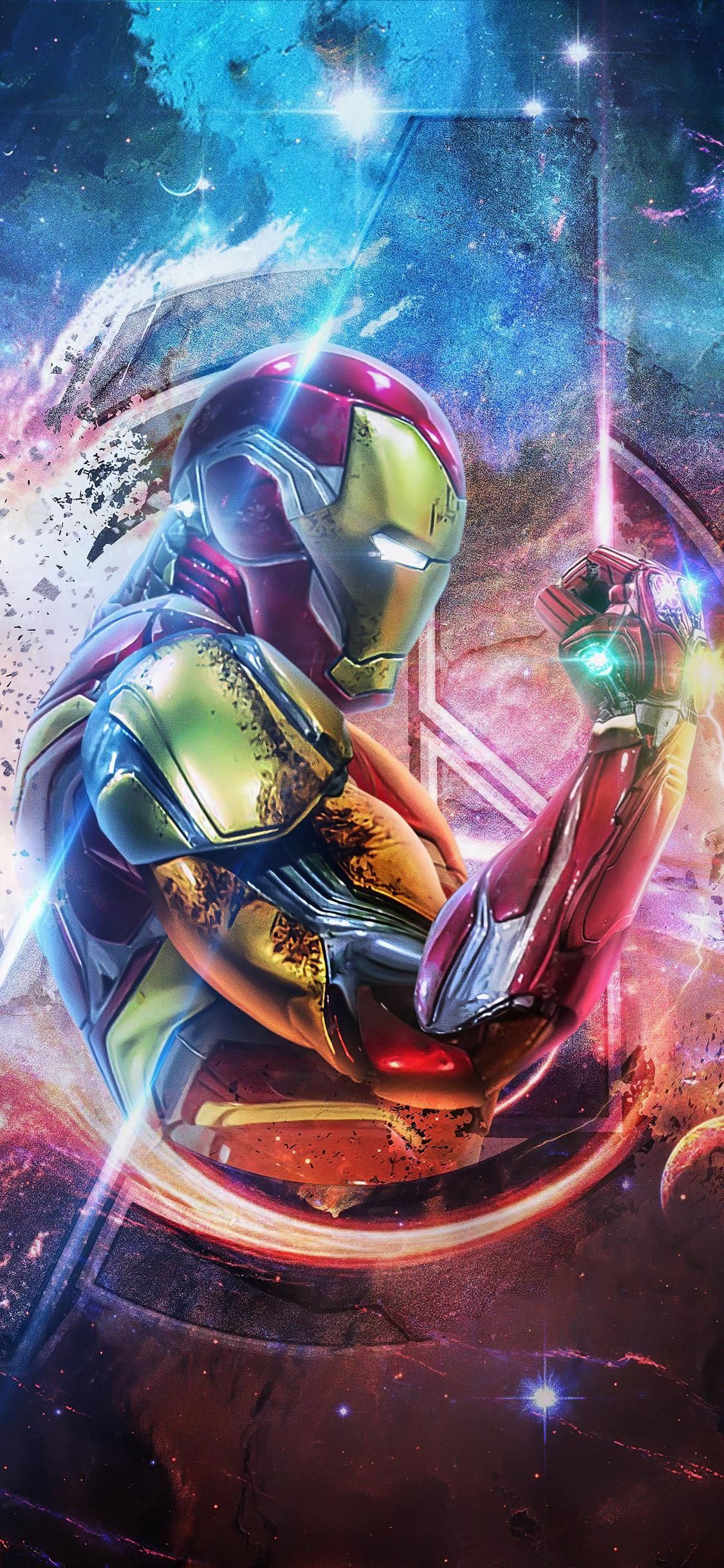 Iphone x wallpaper 4k iron man