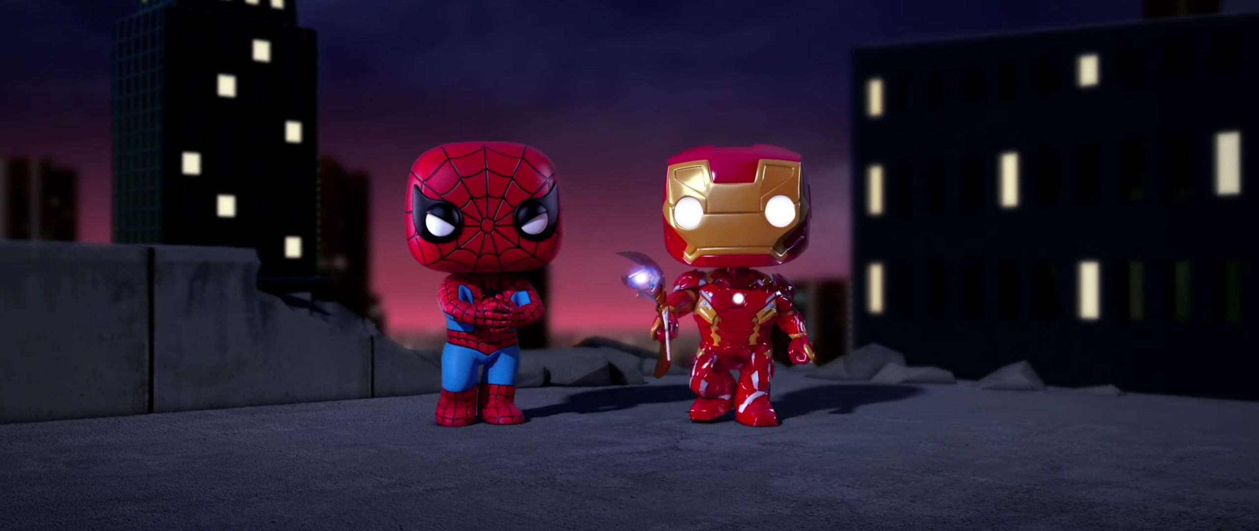 2560x1080 iron man and spiderman spellbound animated movie - Iron man wallpaper anime ...