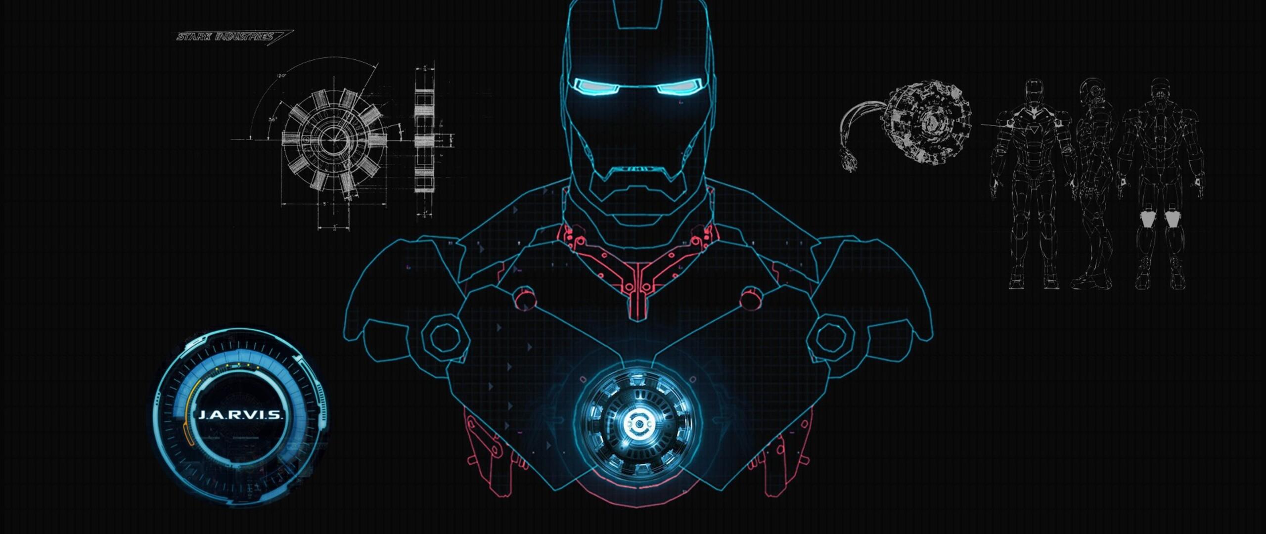 2560x1080 iron man art 2560x1080 resolution hd 4k for Sfondi iron man