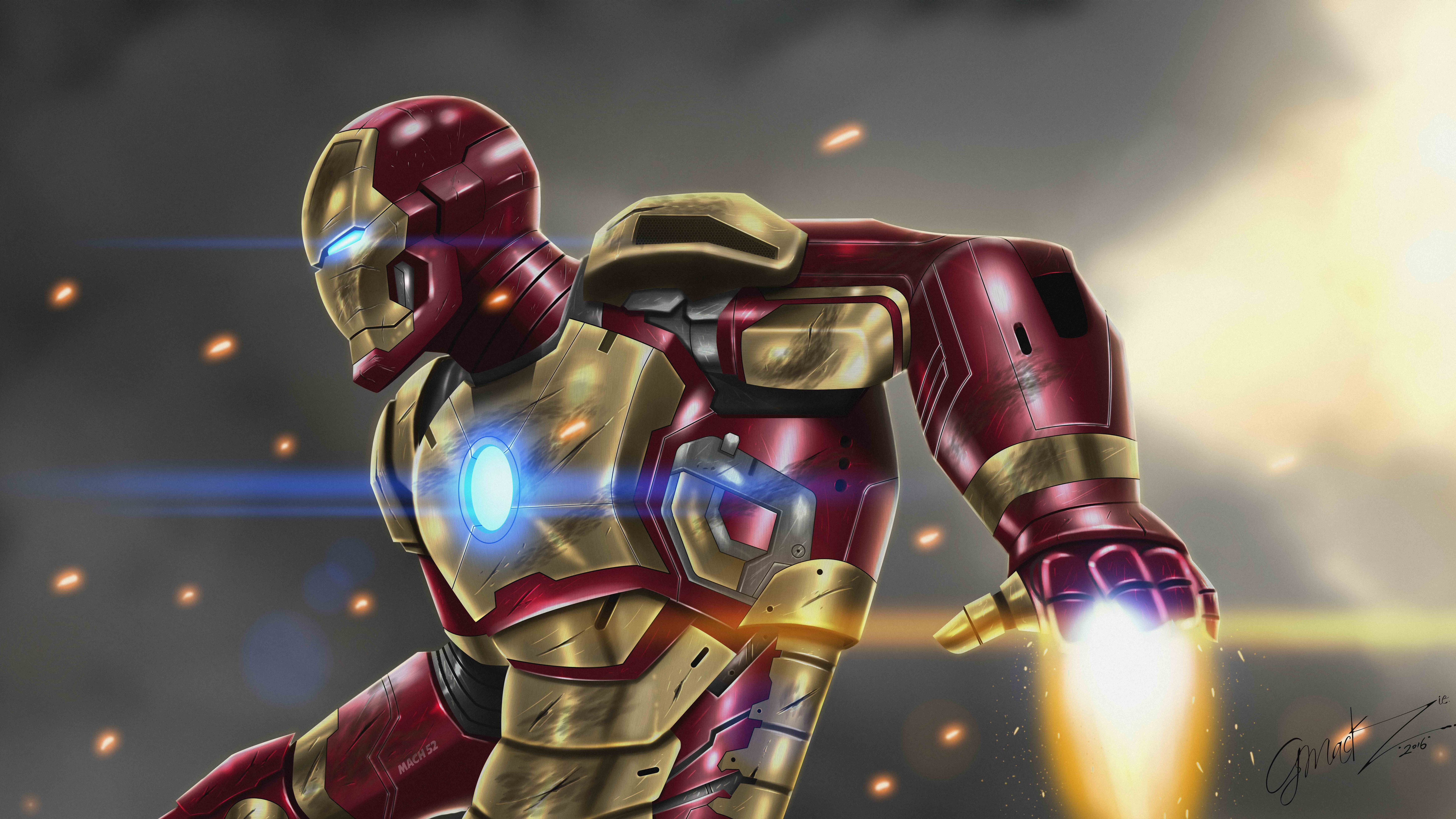 7680x4320 Iron Man At War 10k Artwork 8k Hd 4k Wallpapers Images