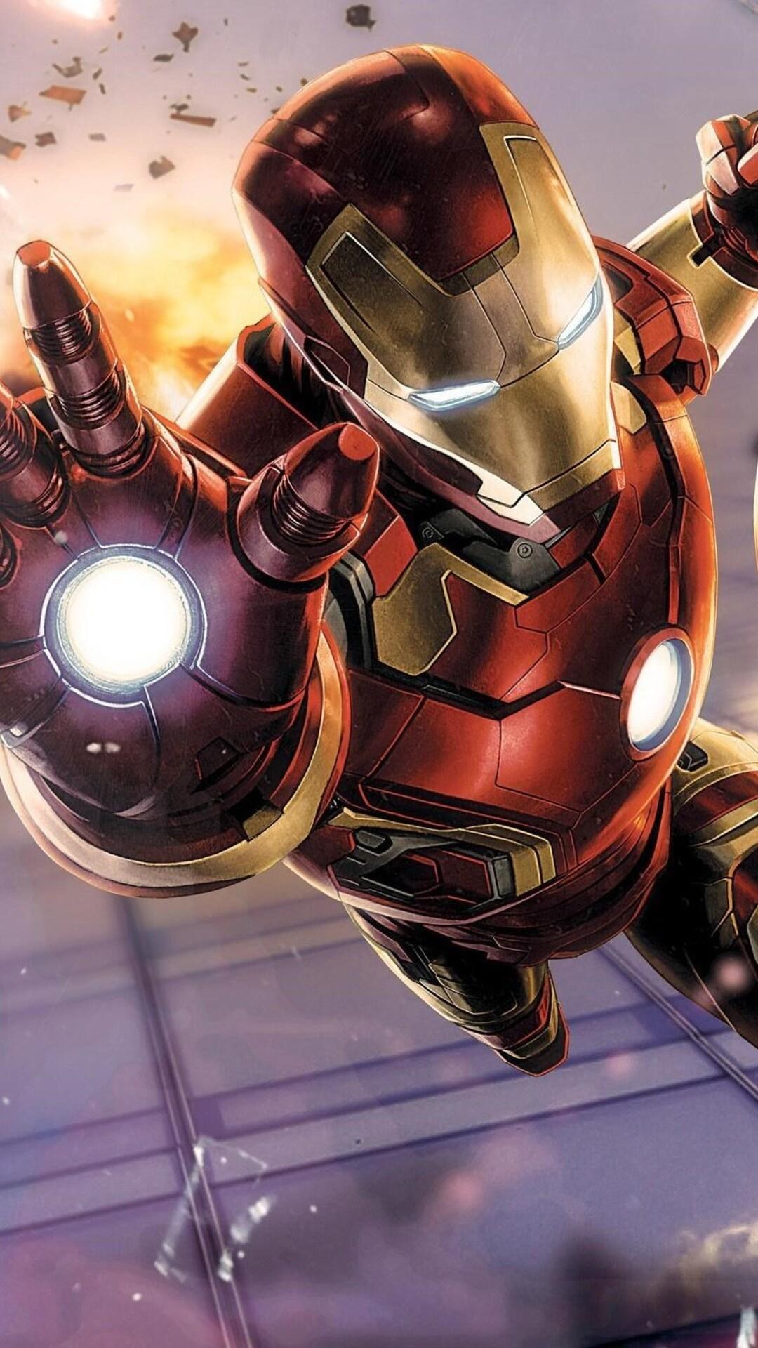1080x1920 Iron Man Avengers Iphone 7,6s,6 Plus, Pixel xl ...