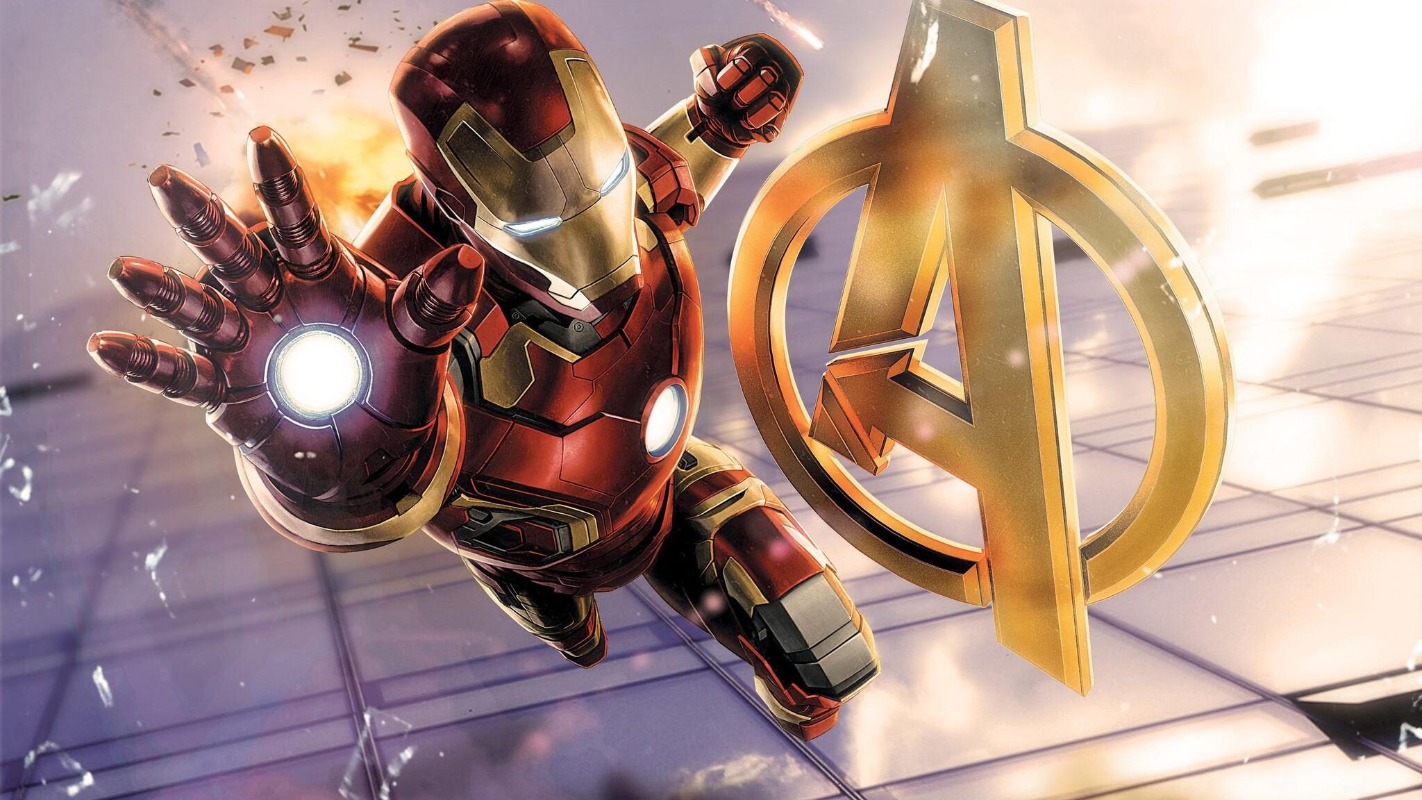 2048x1152 Iron Man Avengers 2048x1152 Resolution Hd 4k Wallpapers