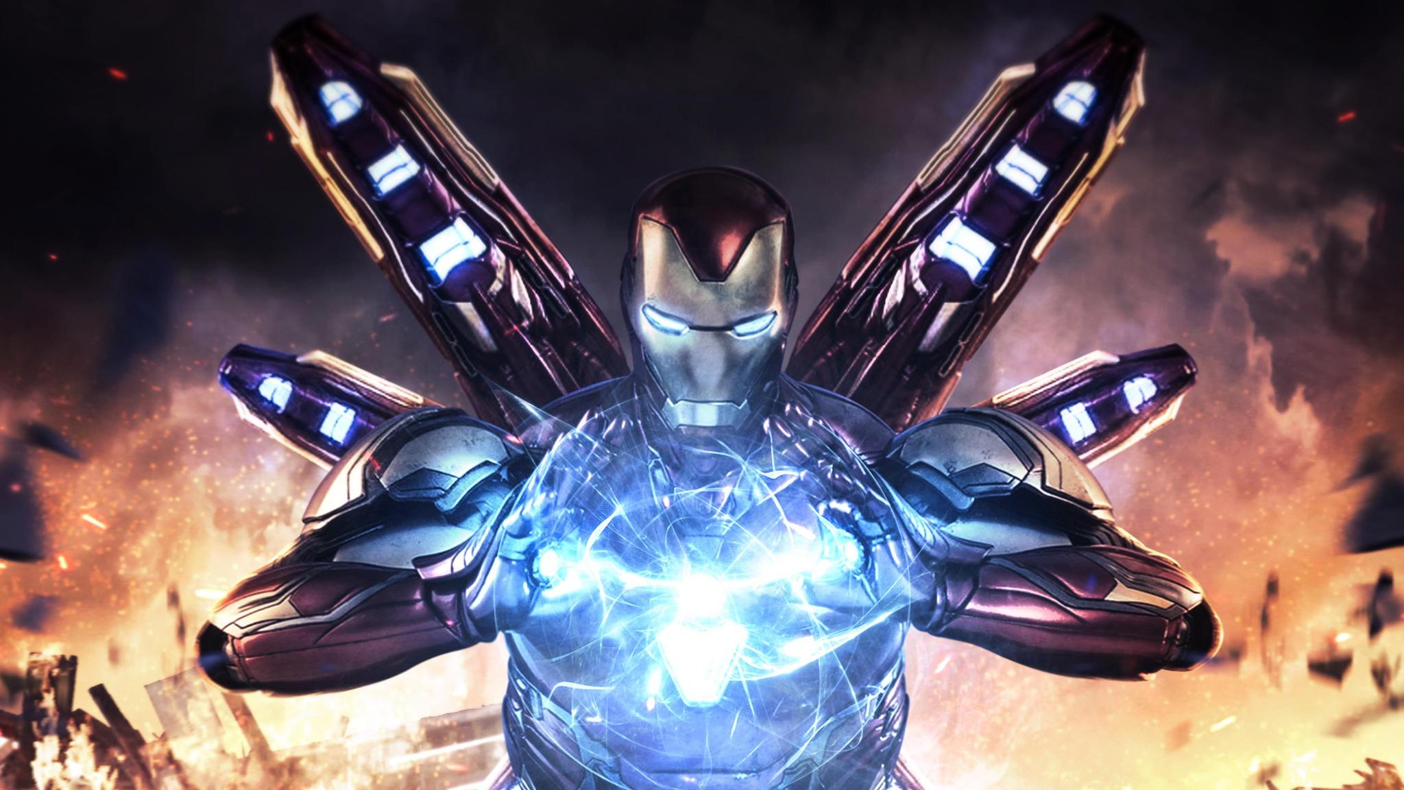 2048x1152 Iron Man Avengers Endgame 4k 2048x1152 Resolution