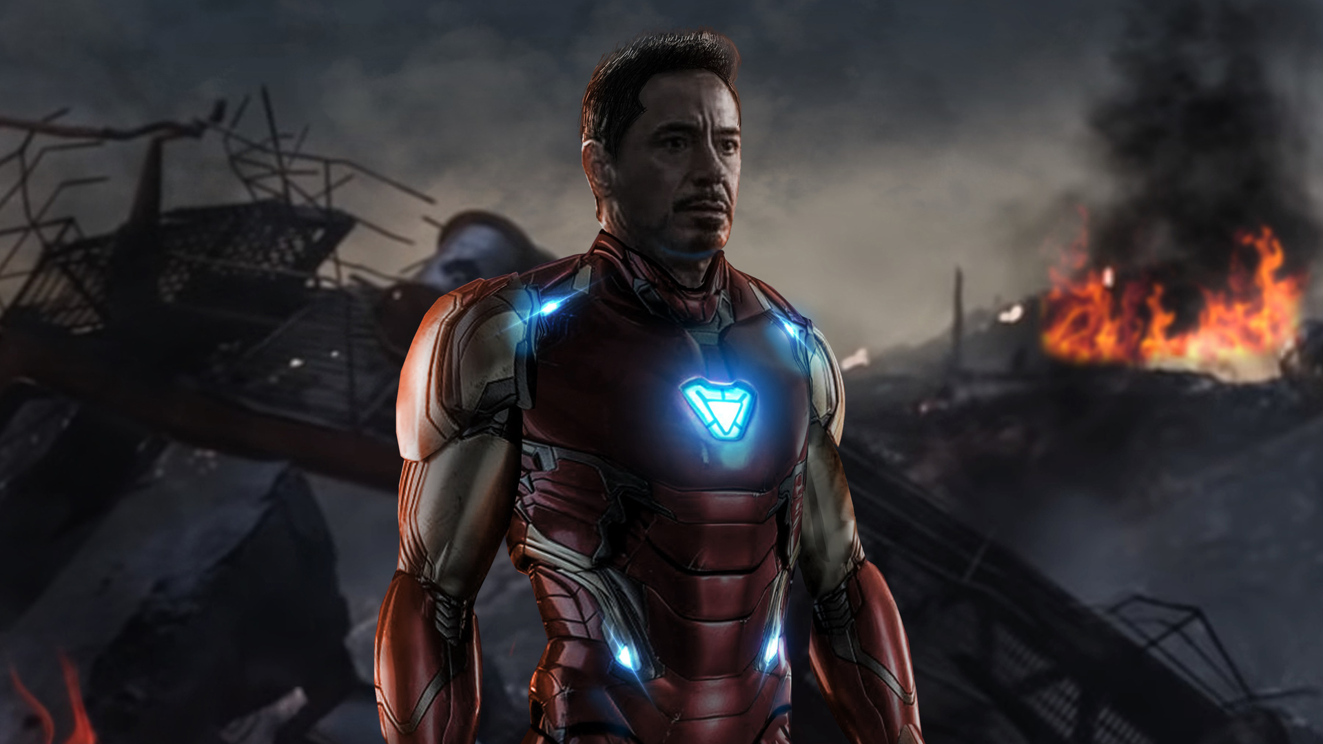 1920x1080 Iron Man Avengers Endgame Laptop Full Hd 1080p Hd 4k Wallpapers Images Backgrounds Photos And Pictures