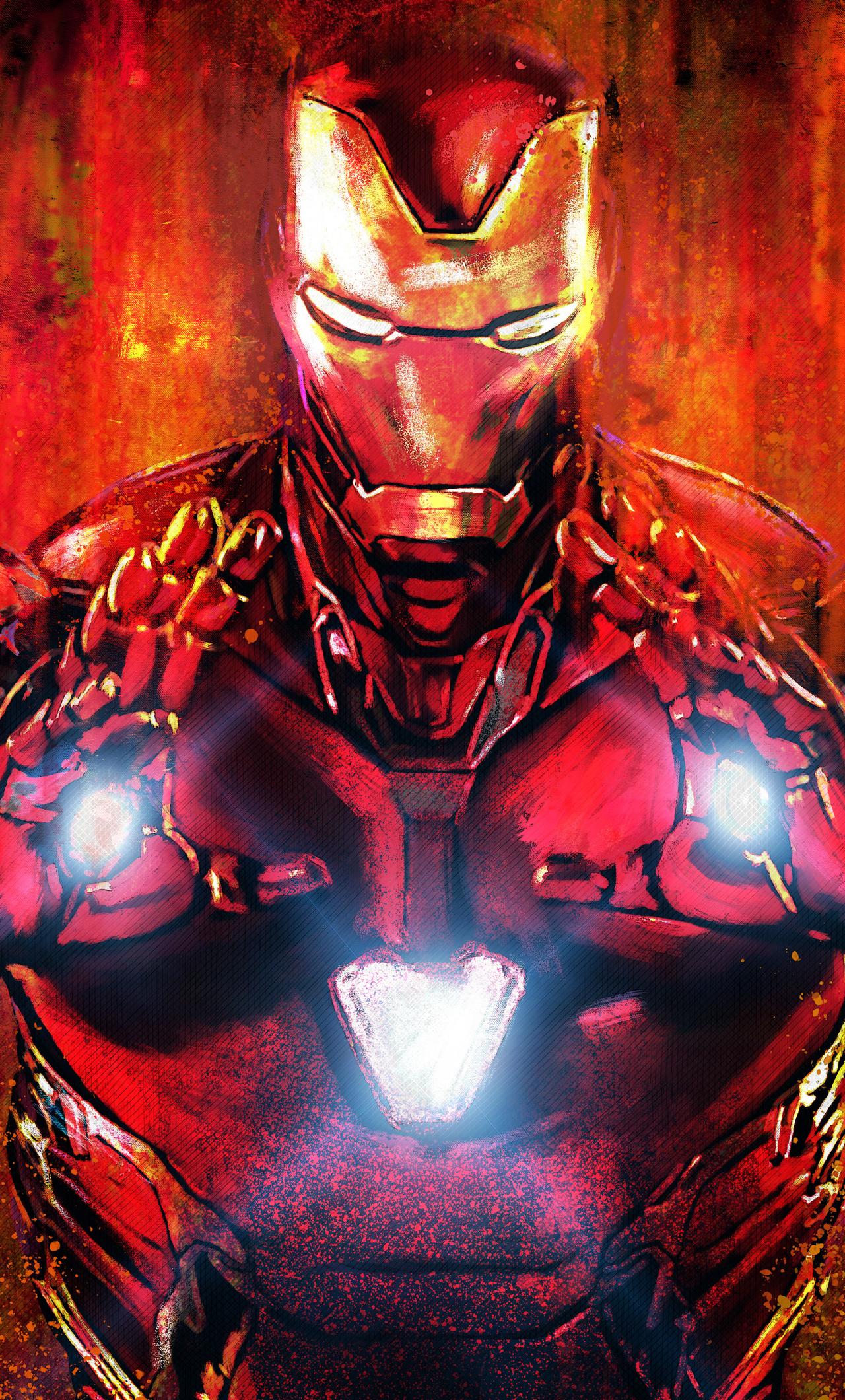1280x2120 Iron Man Avengers Endgame 5k 2019 iPhone 6+ HD ...
