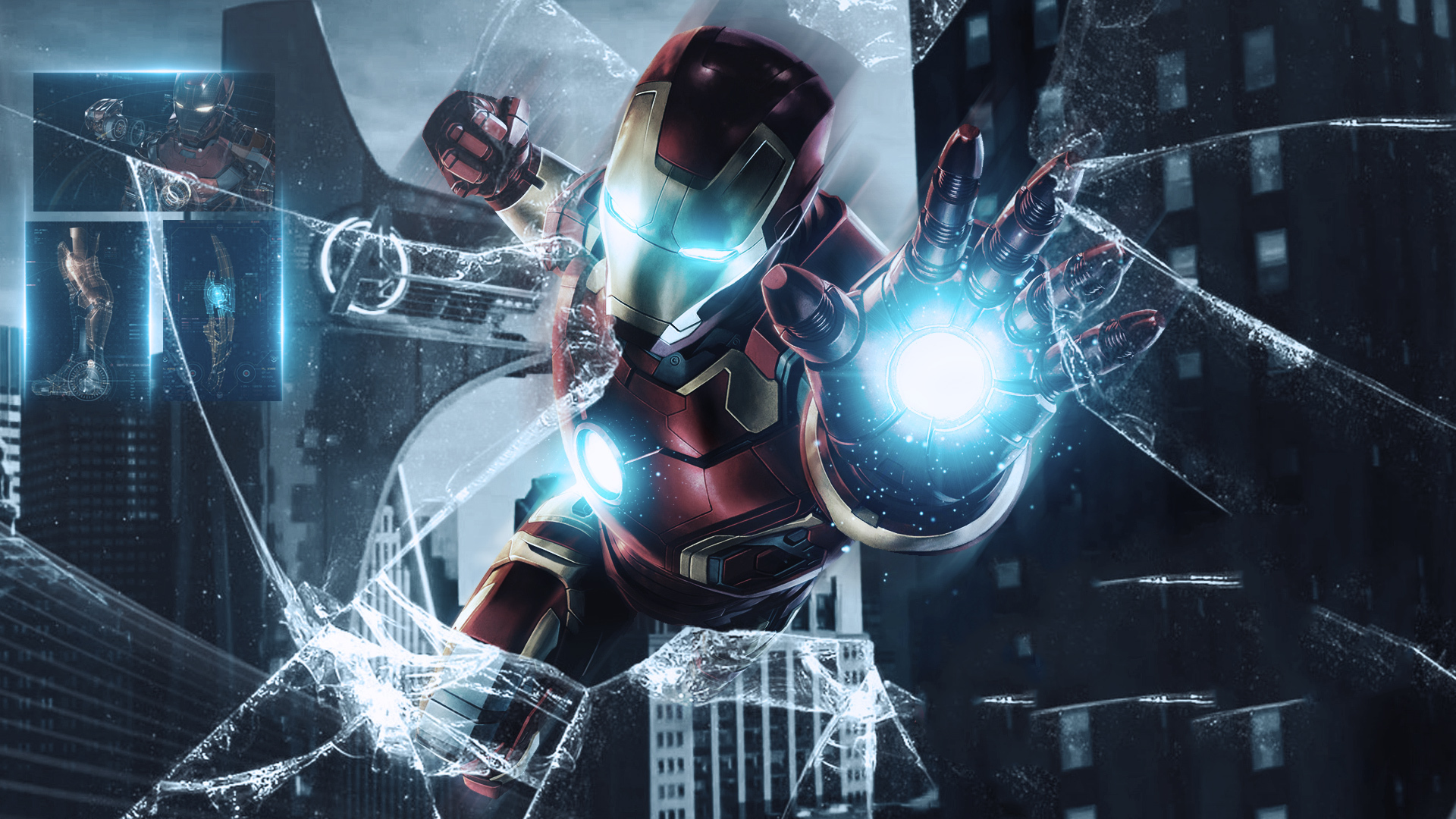 Cool 1080p Full Hd Avengers Endgame Iron Man Wallpaper Hd Wallpaper