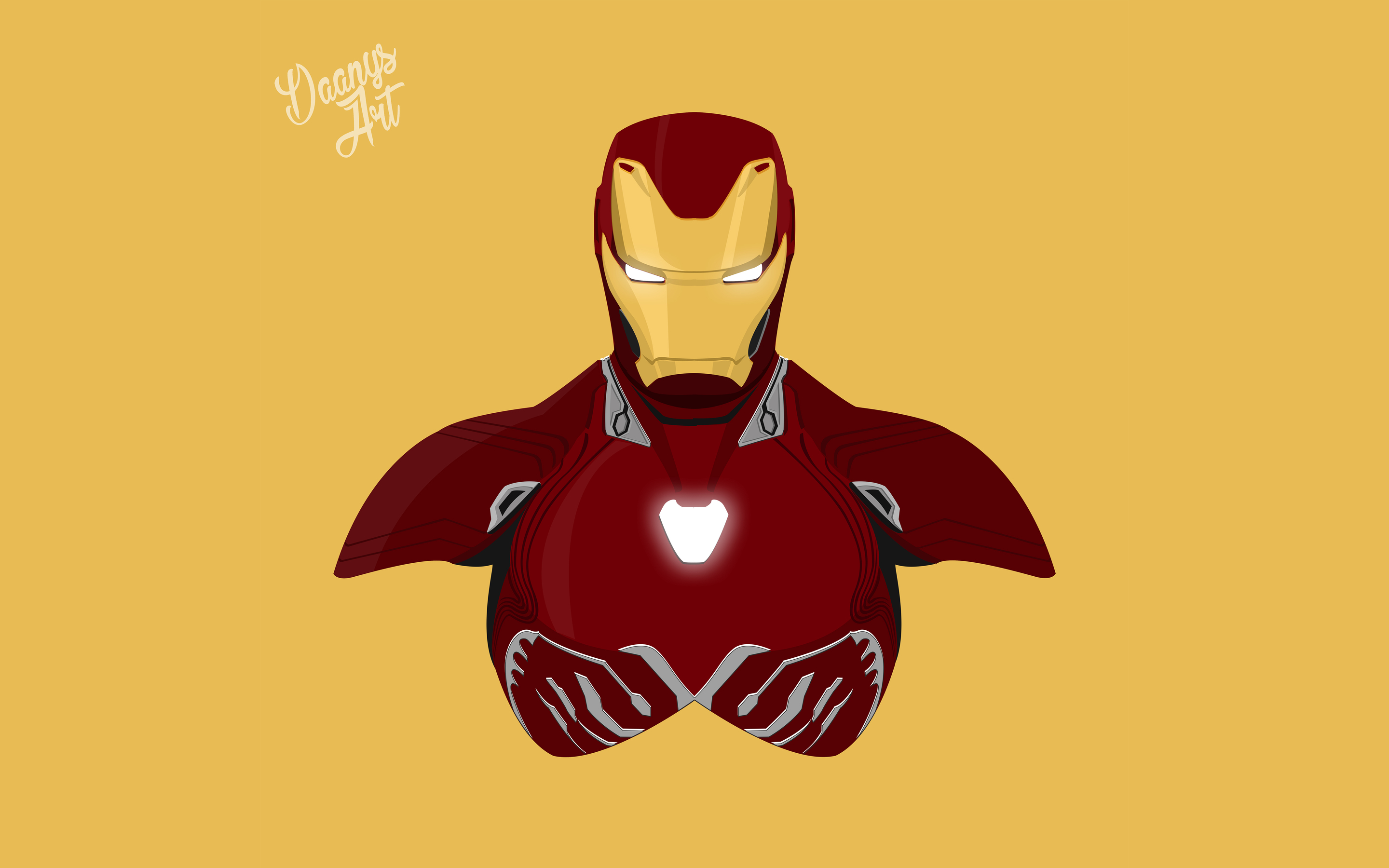 Fantastic Wallpaper Marvel Macbook - iron-man-avengers-infinity-war-2018-minimalism-8k-k7-2880x1800  Pic_803376.jpg