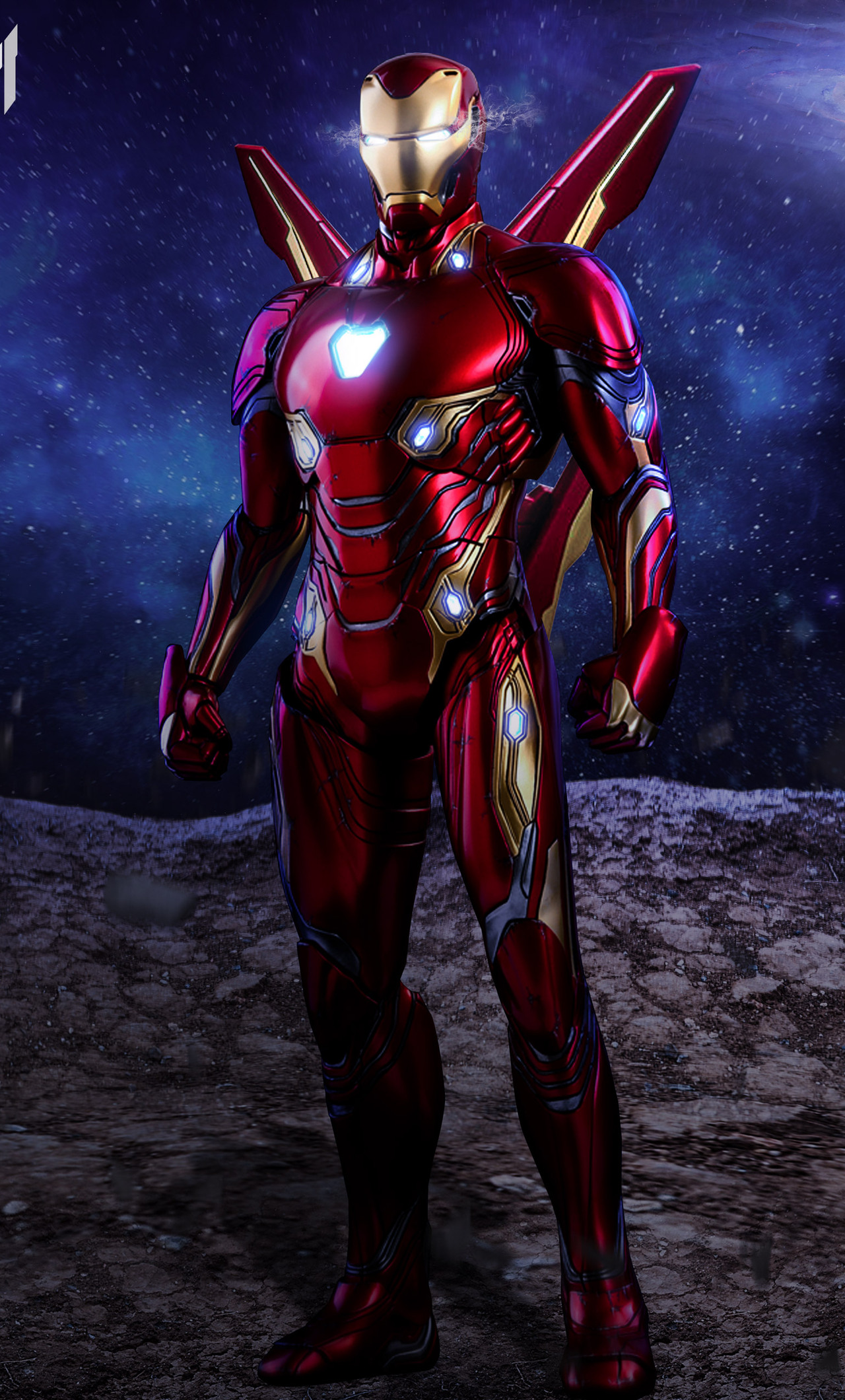 1280x2120 Iron Man Avengers Infinity War Suit Artwork Iphone 6 Hd