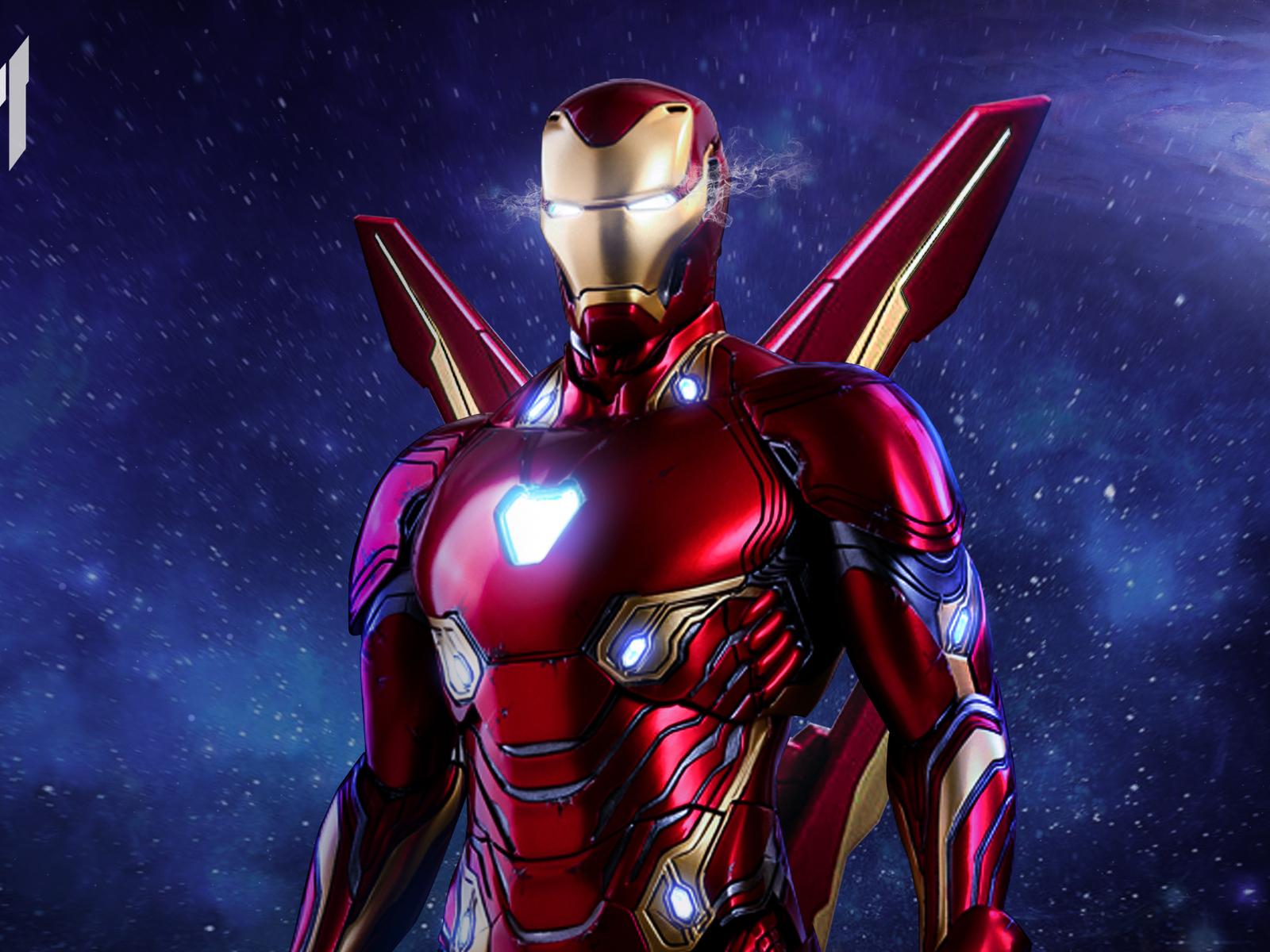 Wallpaper Iron Man Mark 50 New Wallpapers