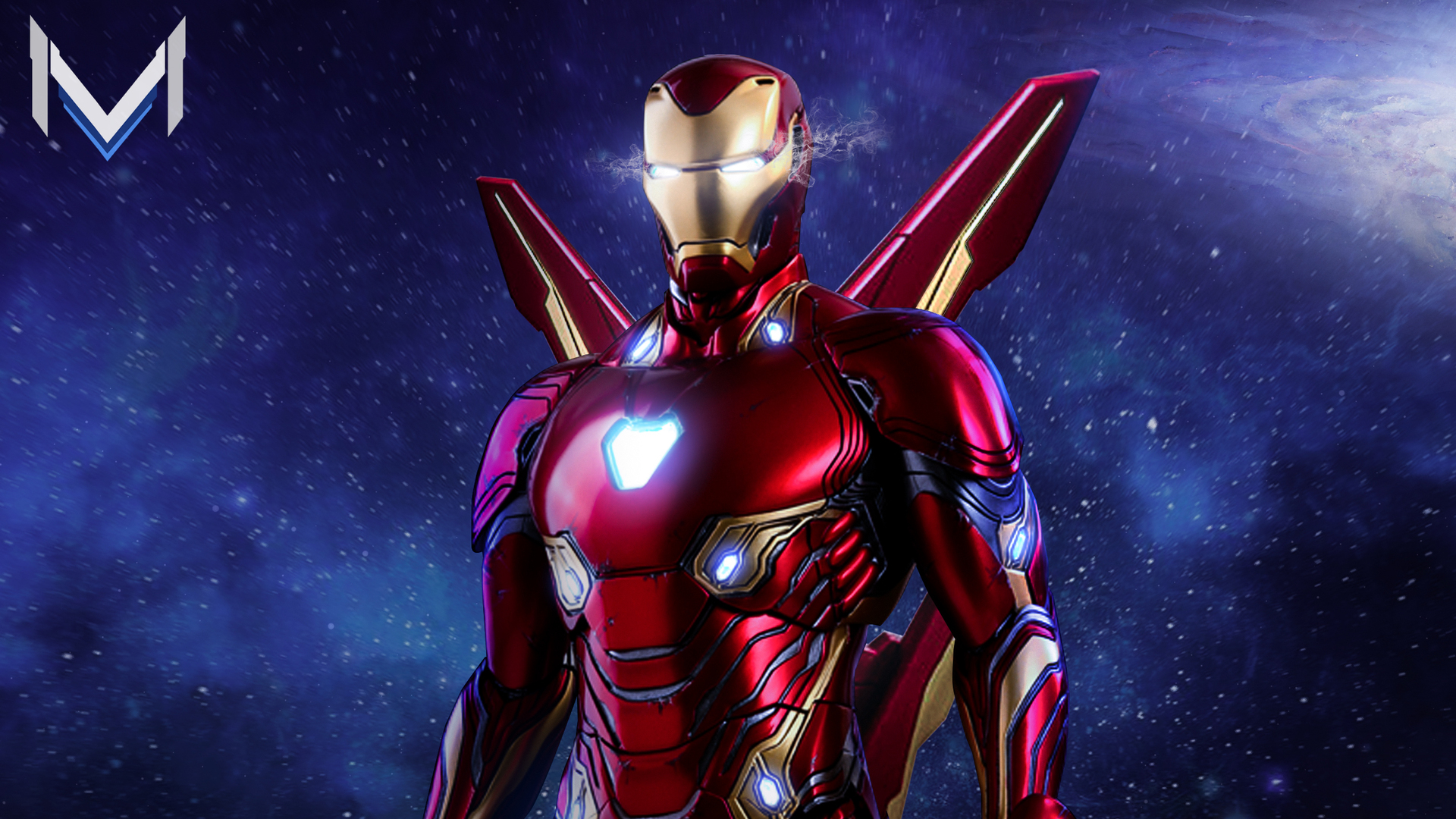 1920x1080 iron man avengers infinity war suit artwork laptop full hd