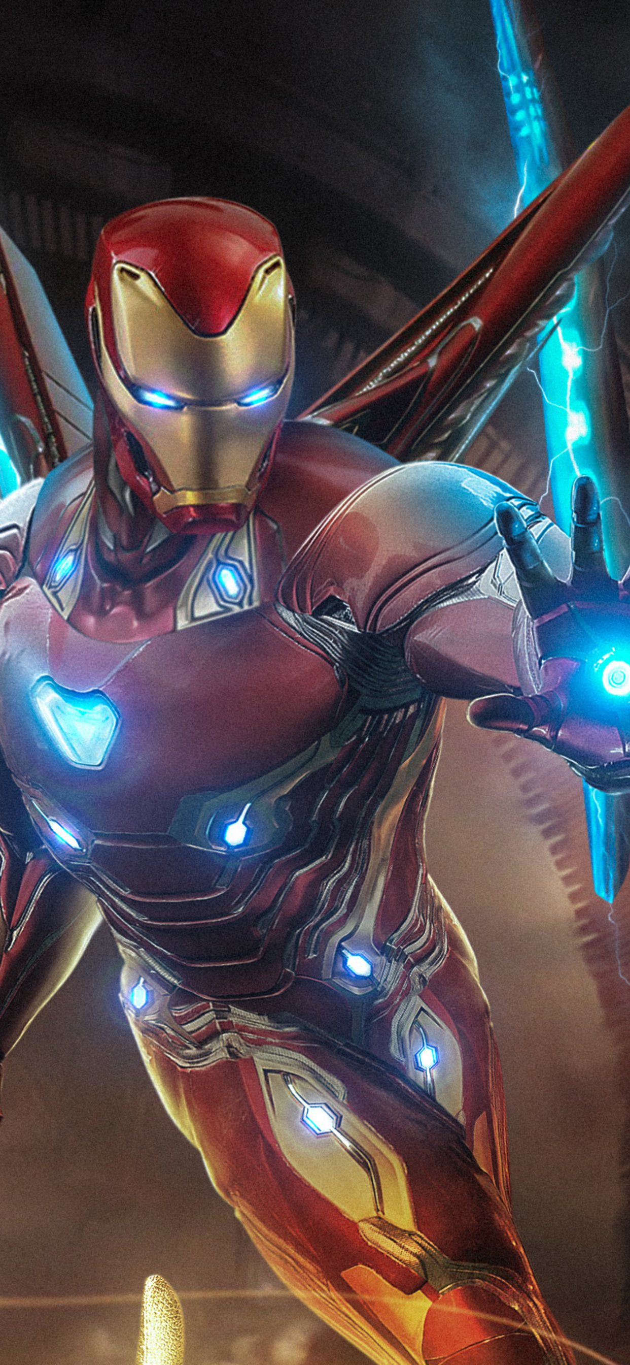 1242x2688 Iron Man Endgame Iphone Xs Max Hd 4k Wallpapers Images