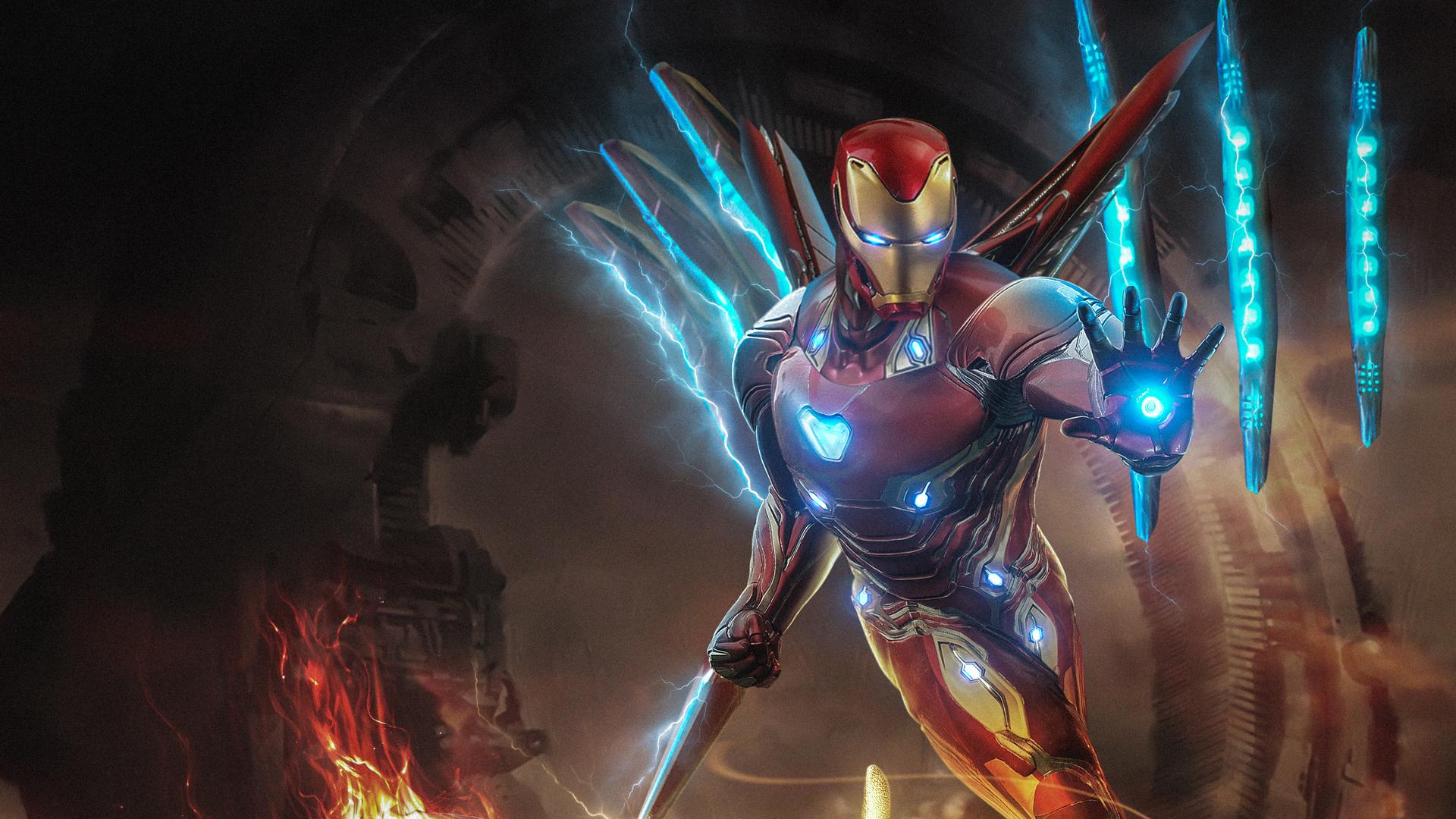 1920x1080 Iron Man Endgame Laptop Full Hd 1080p Hd 4k Wallpapers