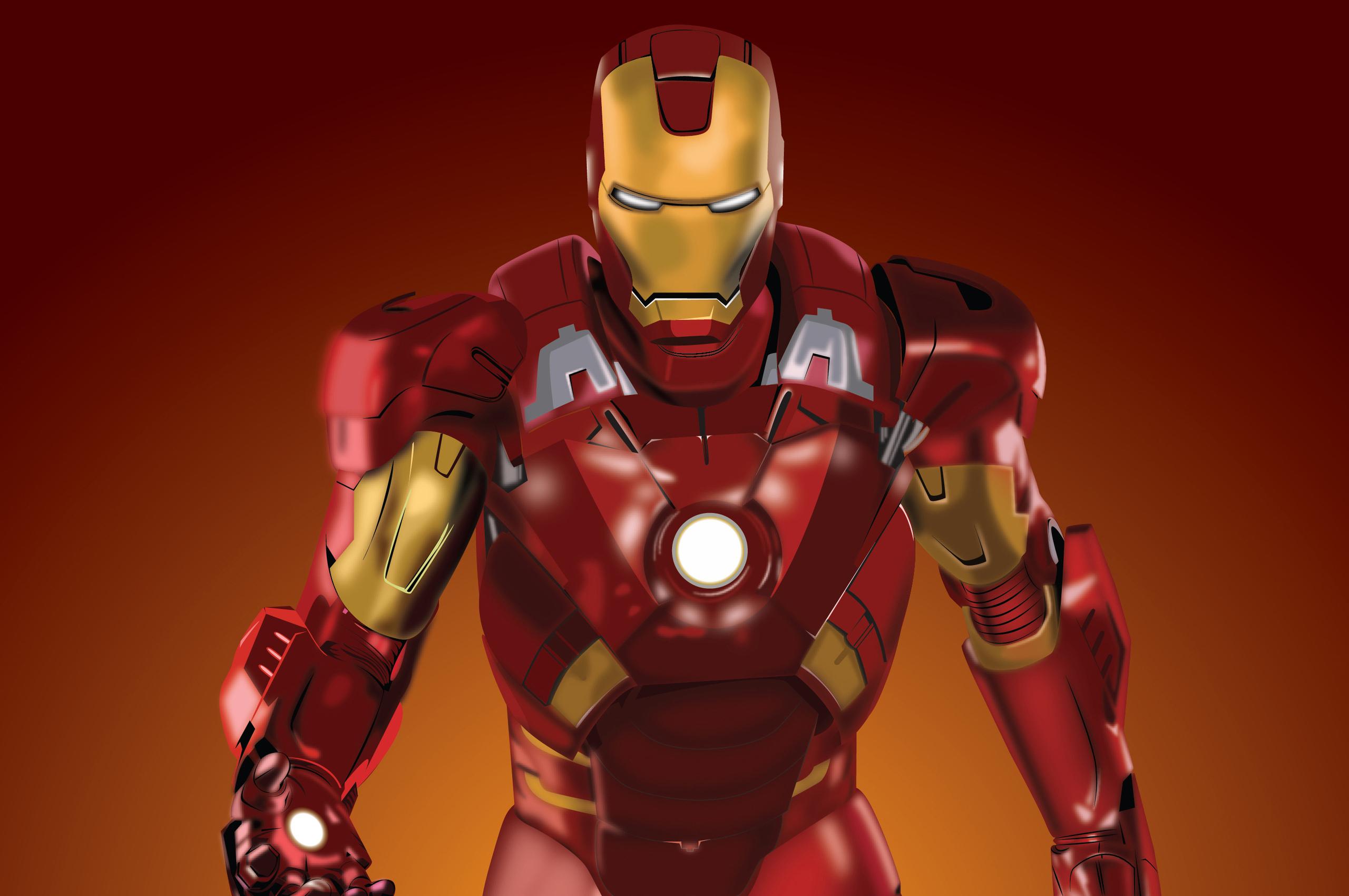 2560x1700 Iron Man Fan Art 4k Chromebook Pixel HD 4k