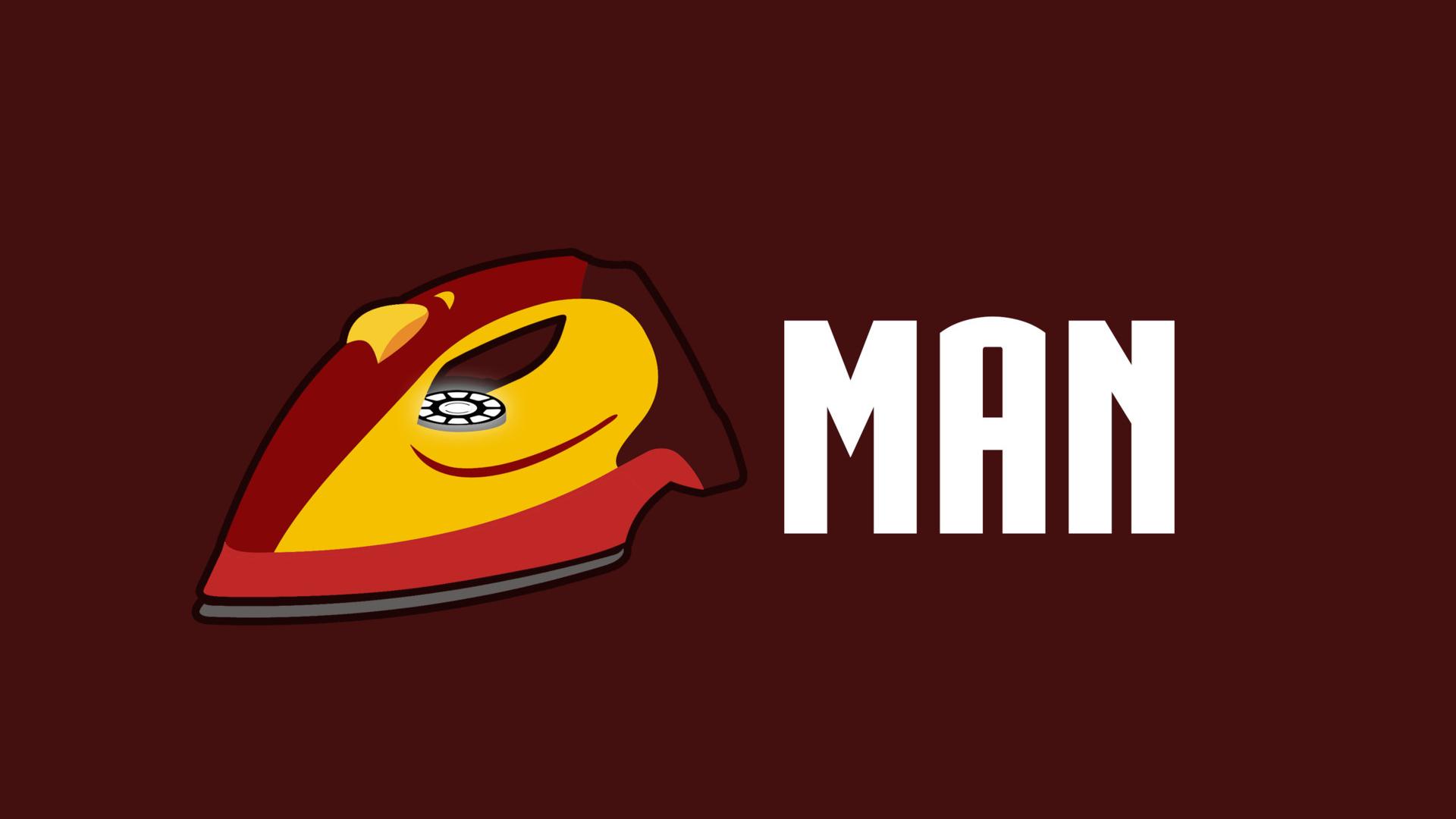 1920x1080 Iron Man Funny Minimalism Laptop Full Hd 1080p Hd