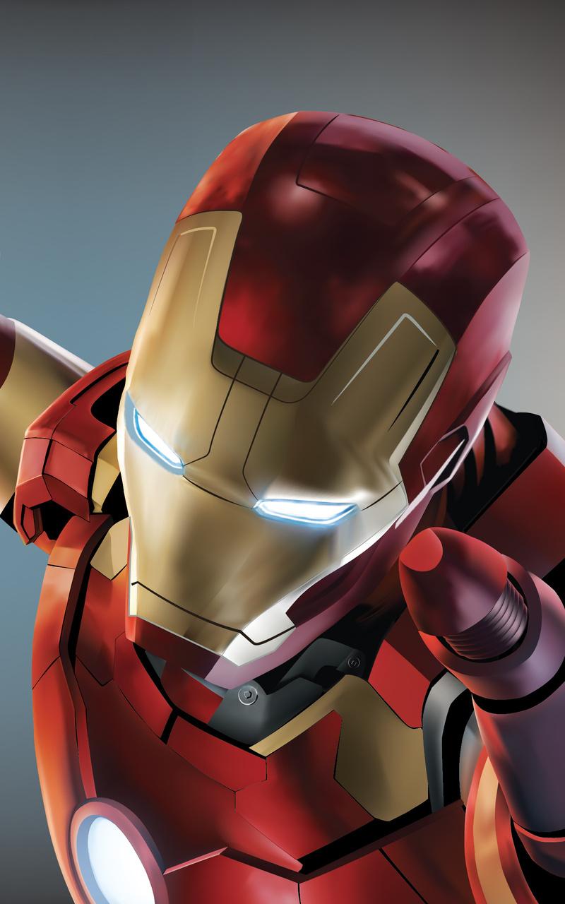 800x1280 Iron Man Hd Artwork Nexus 7 Samsung Galaxy Tab 10 Note