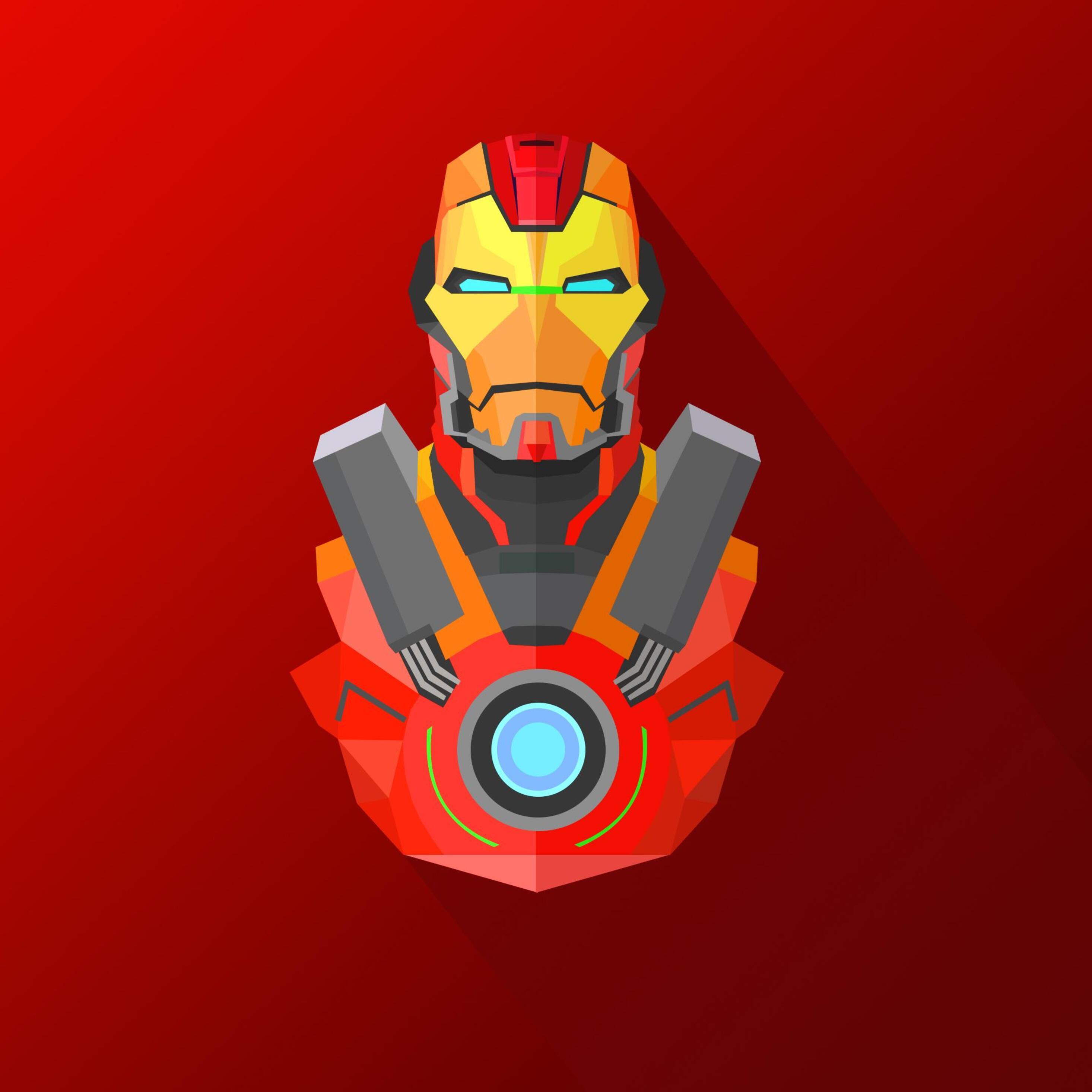 2932x2932 iron man heartbreaker artwork 4k ipad pro retina for Ecran pc retina