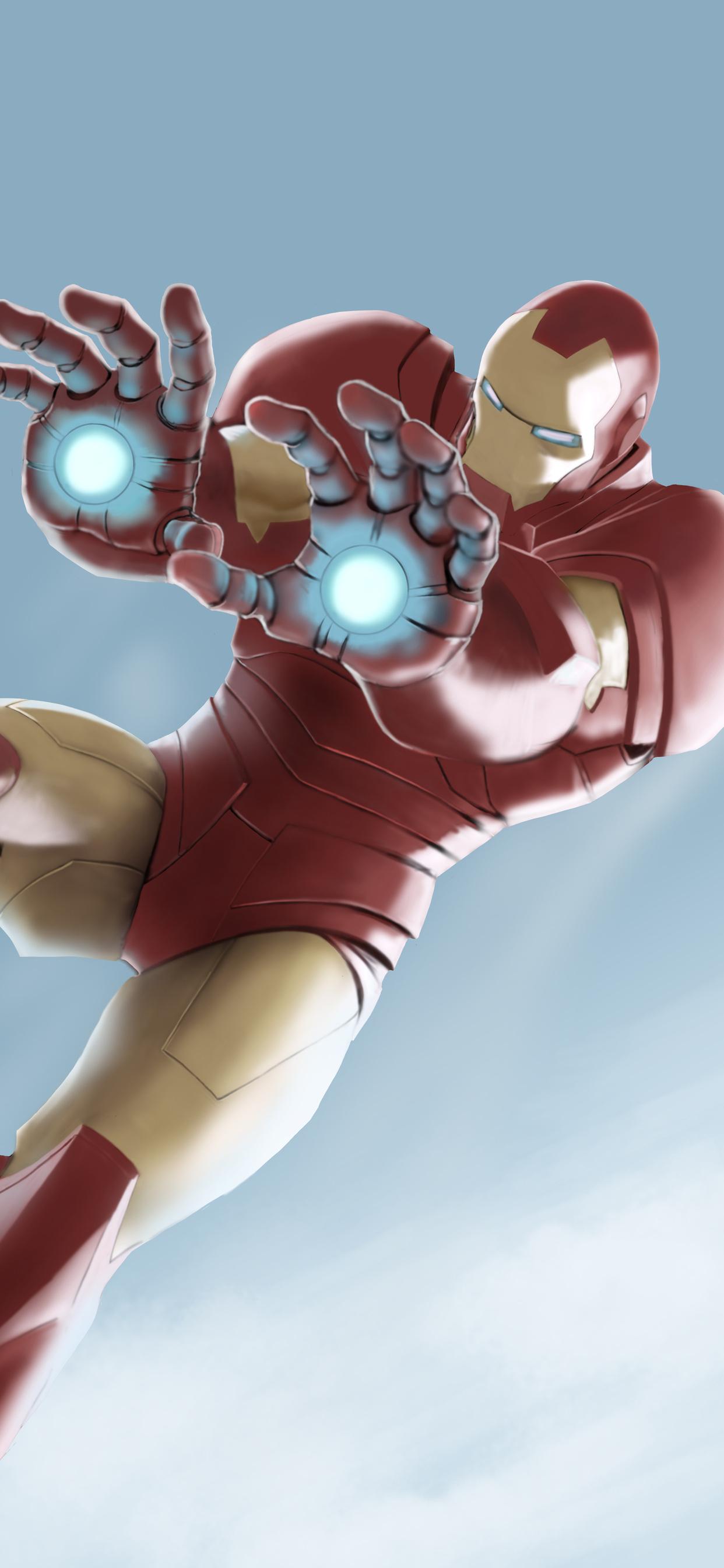1242x2688 Iron Man Hulk Airborn 5k Iphone Xs Max Hd 4k