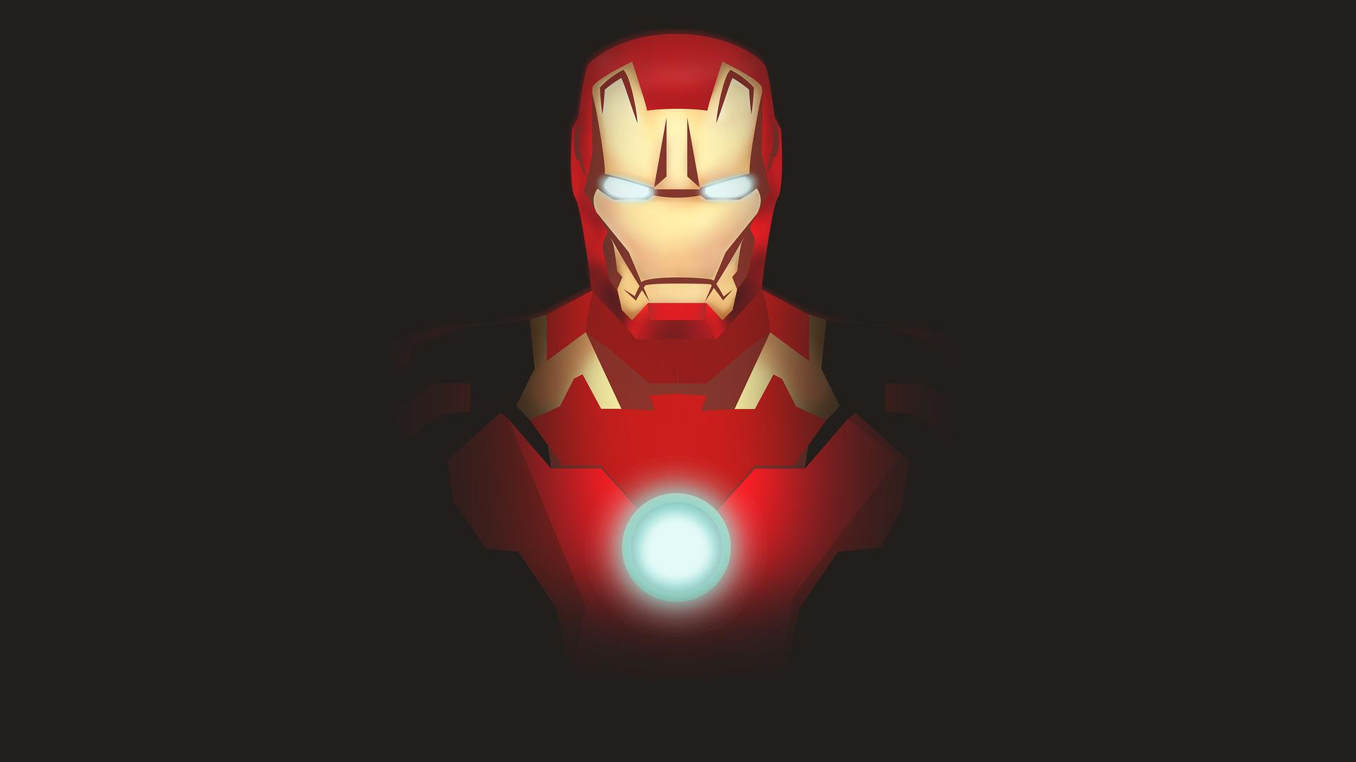 1920x1080 Iron Man Illustration Laptop Full Hd 1080p Hd 4k