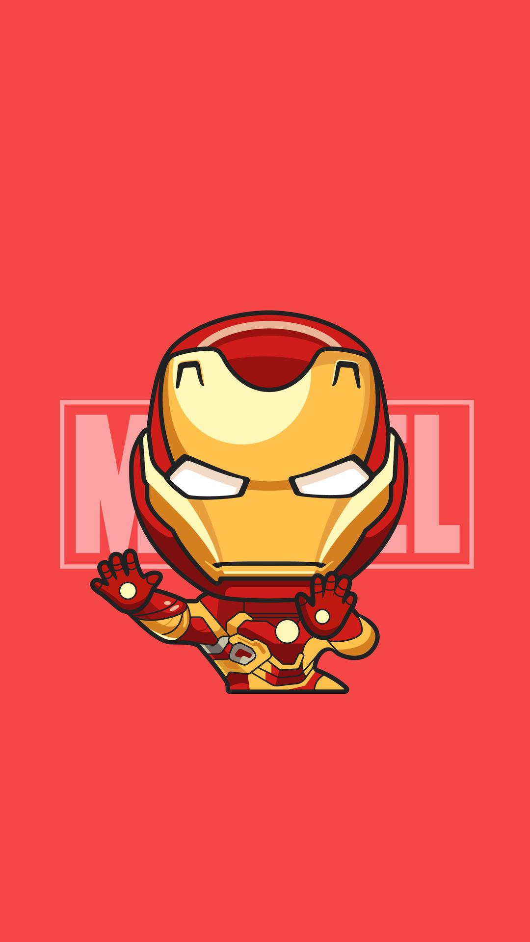 Iron Man Cartoon Wallpaper Iphone Bestpicture1org