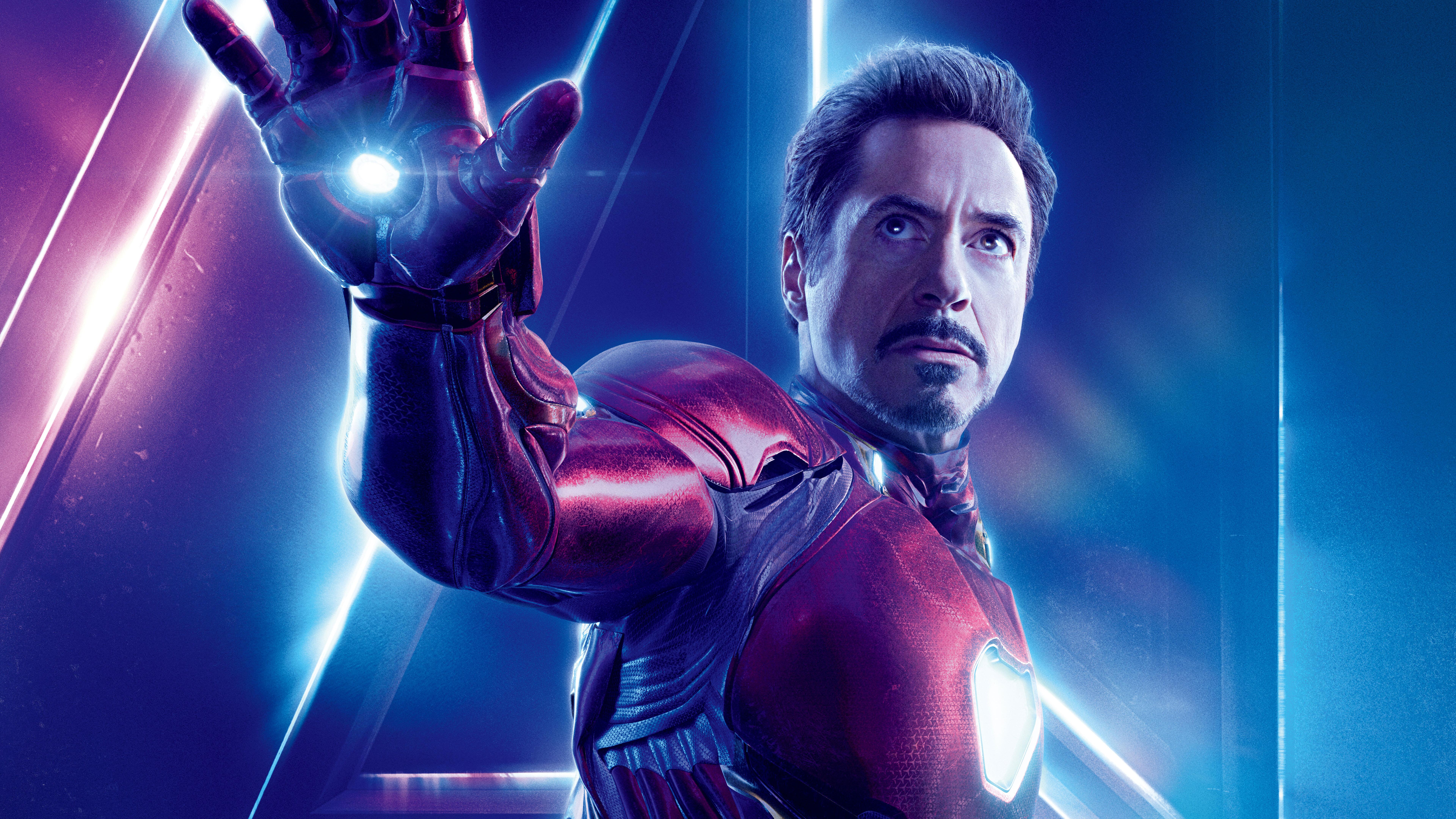 7680x4320 Iron Man In Avengers Infinity War 8k Poster 8k Hd 4k