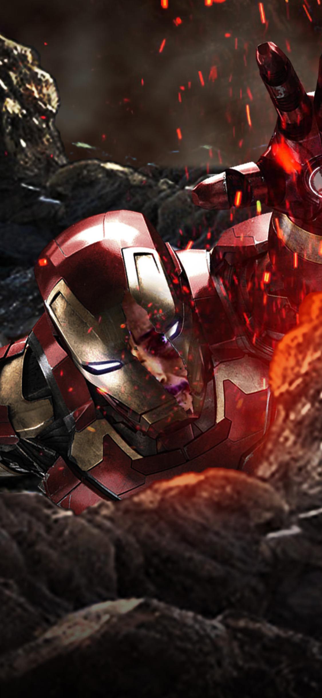 1125x2436 Iron Man In Avengers Infinity War Iphone Xs Iphone 10