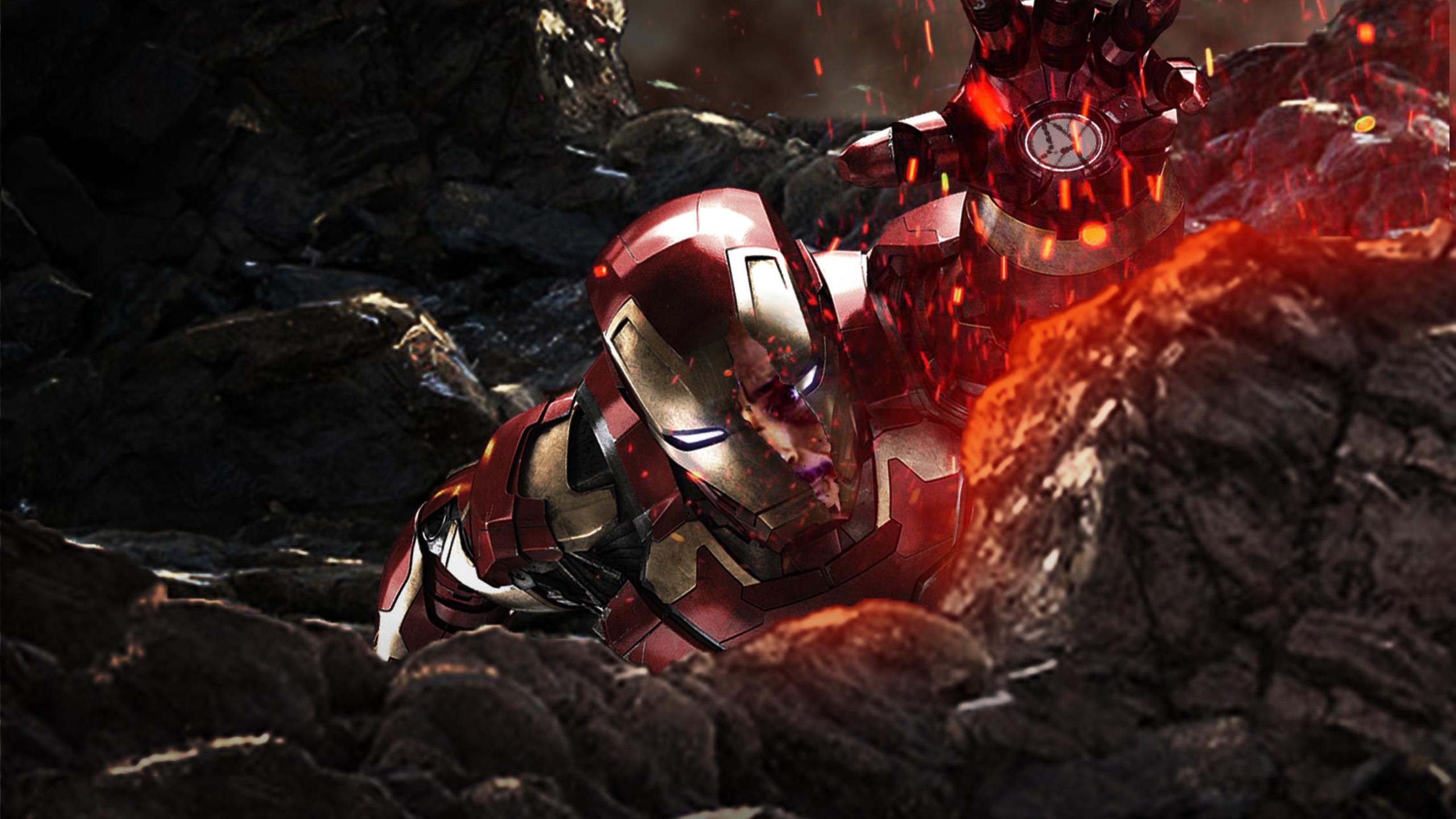 2560x1440 iron man in avengers infinity war 1440p resolution hd 4k wallpapers images - Iron man wallpaper 4k ...