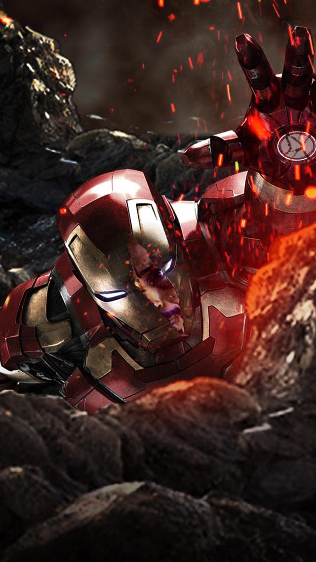 640x1136 Iron Man In Avengers Infinity War Iphone 5 5c 5s Se Ipod